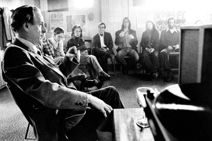Marshall McLuhan at a Monday Night Seminar, 1973