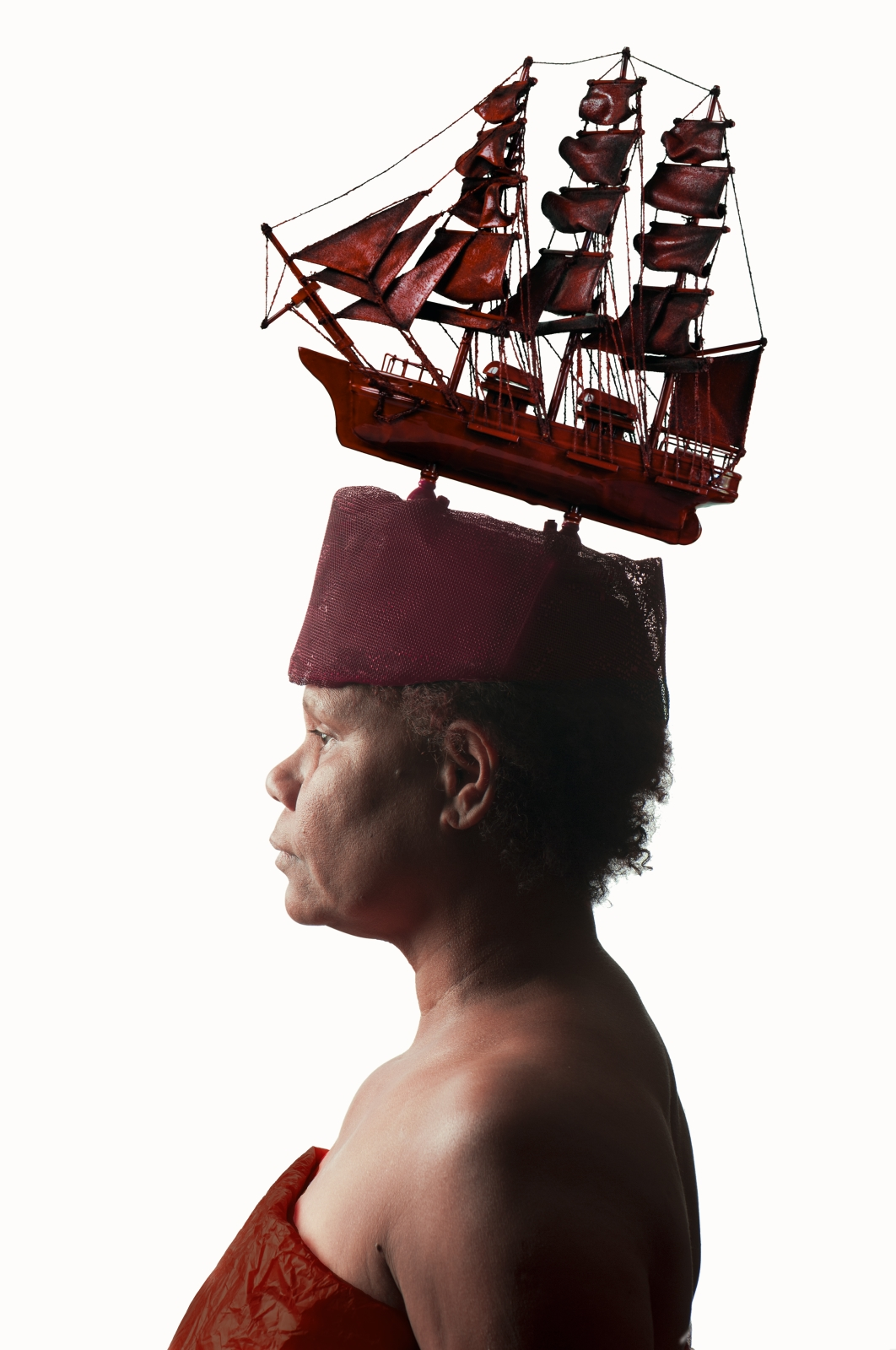 Ali Gumillya Baker,  Sovereign Fleet Red , 2013, archival print. Courtesy the artist.