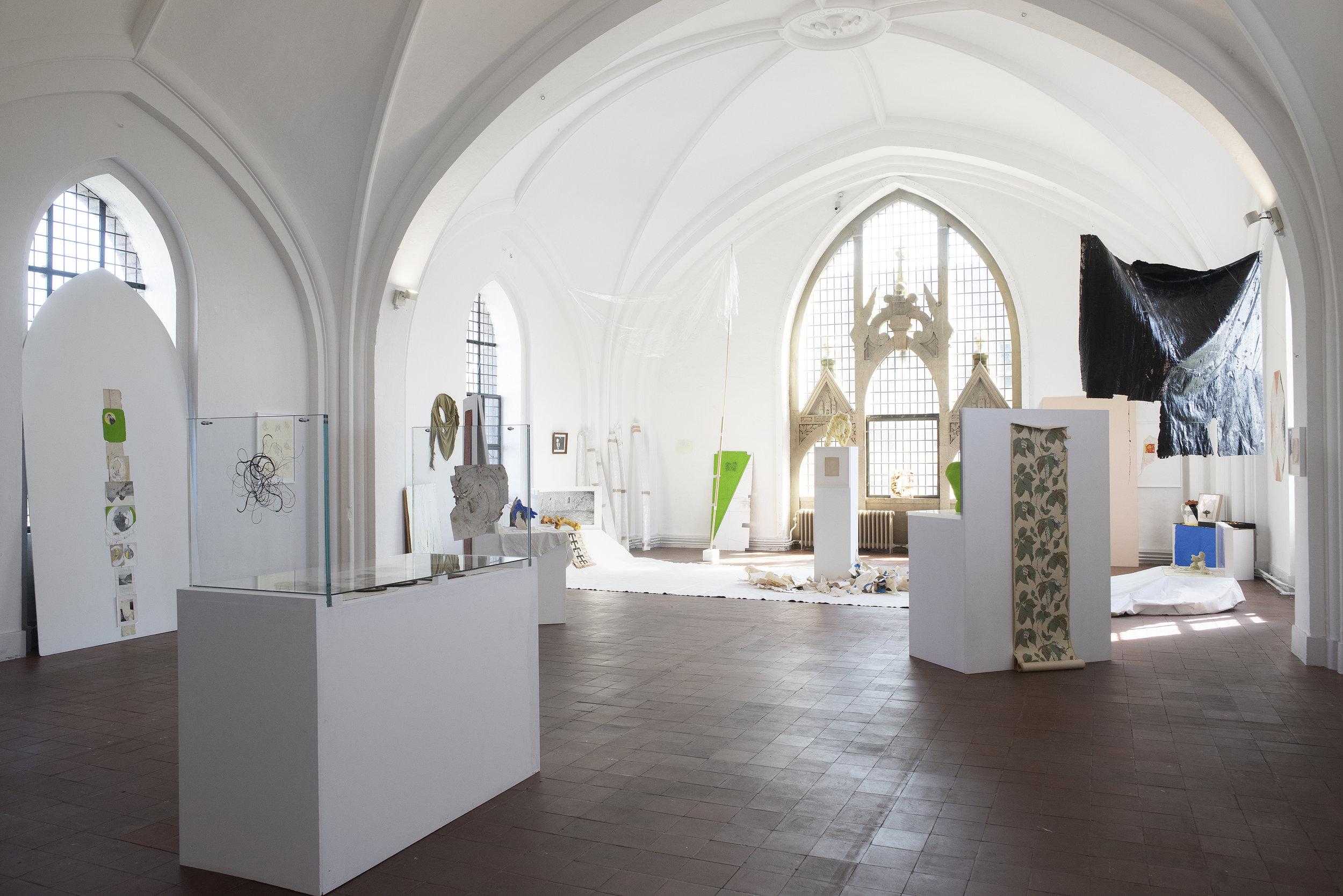 Anohni,  Miracle Now , installation view, Nikolaj Kunsthal, 2018.