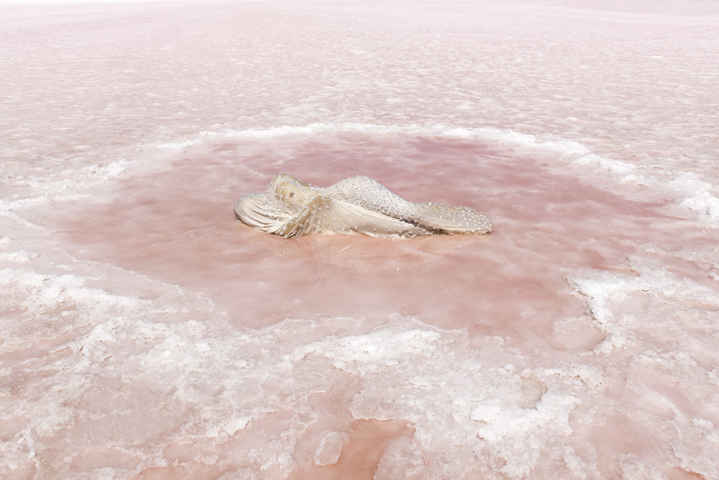 Honey Long & Prue Stent,  Salt Pool,  2018, archival pigment print, 106 x 159 cm. Courtesy the artists and ARC ONE Gallery.