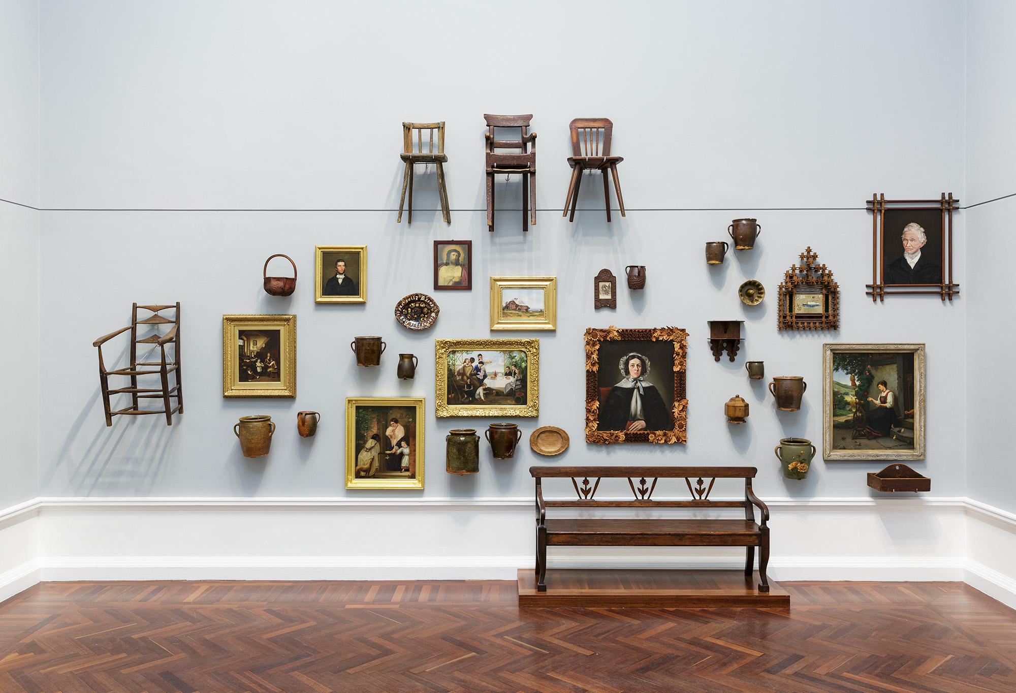 Installation view: Elder Wing of Australian Art, Art Gallery of South Australia, Adelaide, 2018; photo: Saul Steed.