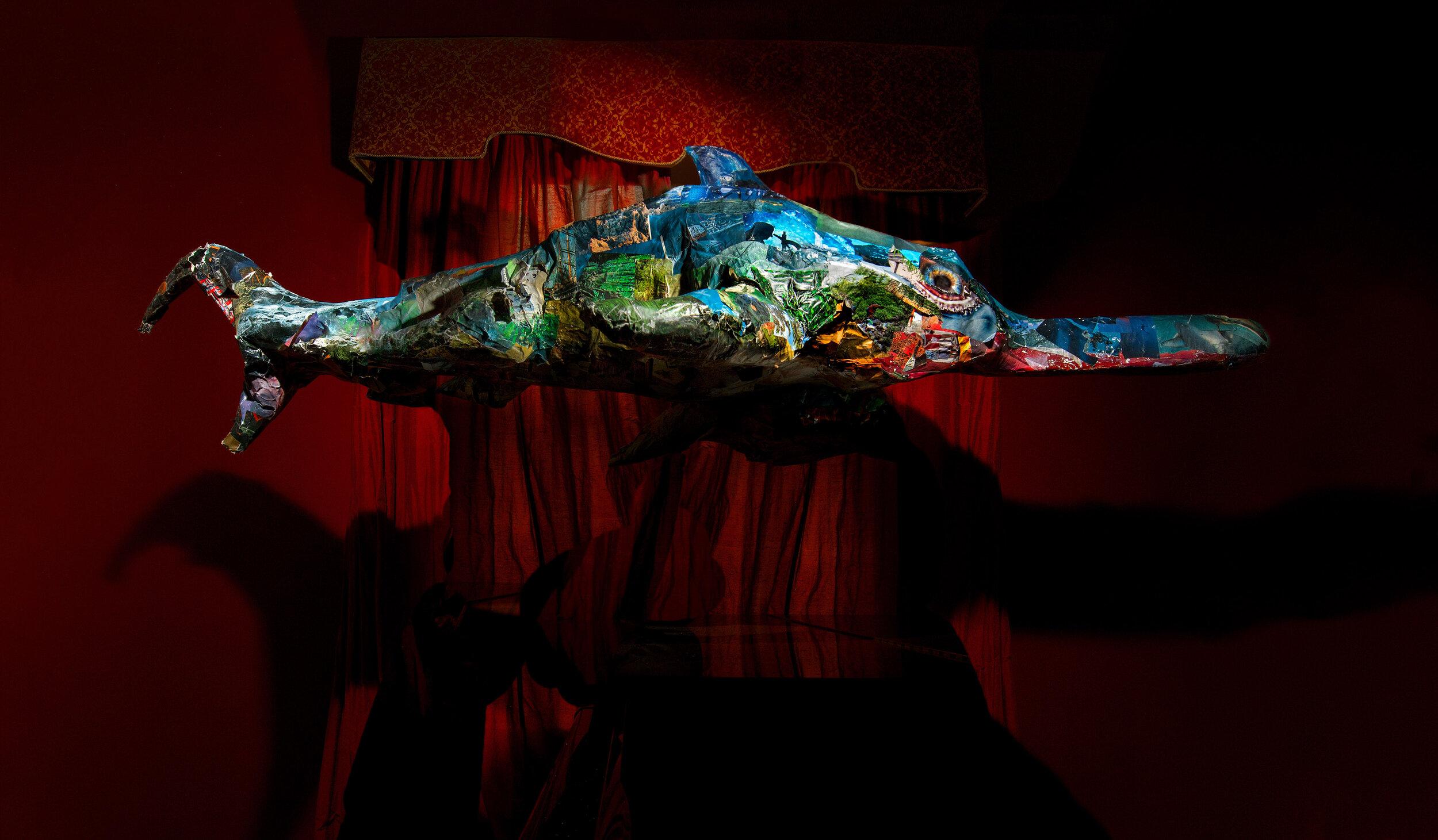 Emmaline Zanelli,  Looks Like A Fish, Tastes Like A Lizard , 2018, inkjet print, 600mm x 400mm. Courtesy the artist.