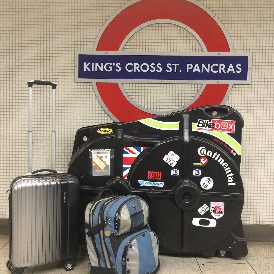 Step free access from Paddington to St Pancras made transporting the kit easy