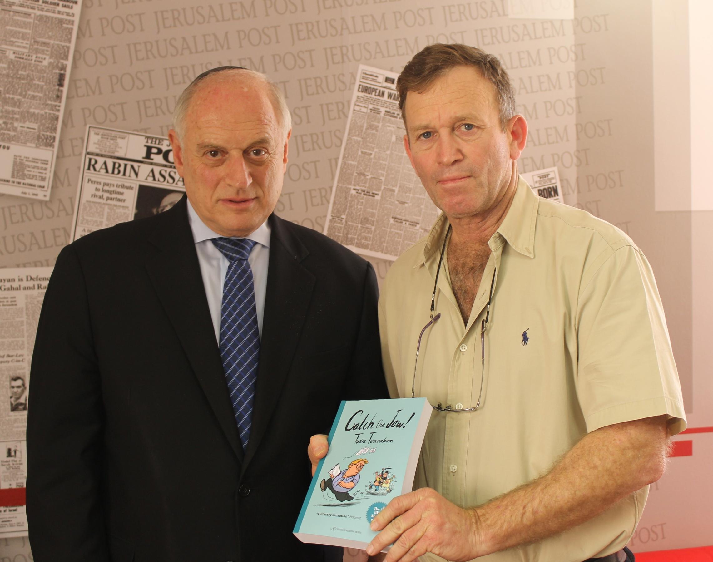 Malcolm_Hoenlein_with_Ilan_Greenfield