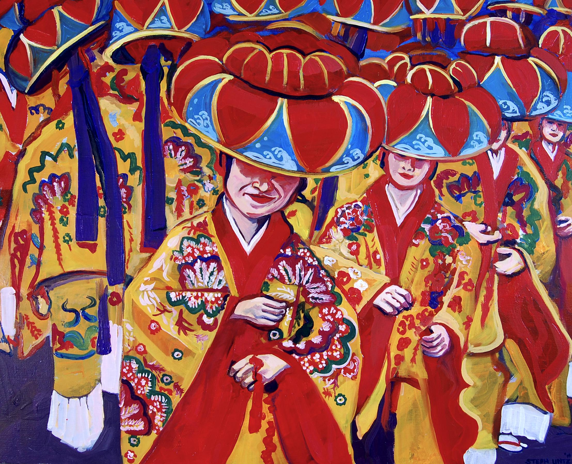 Ryukyuan Dancers