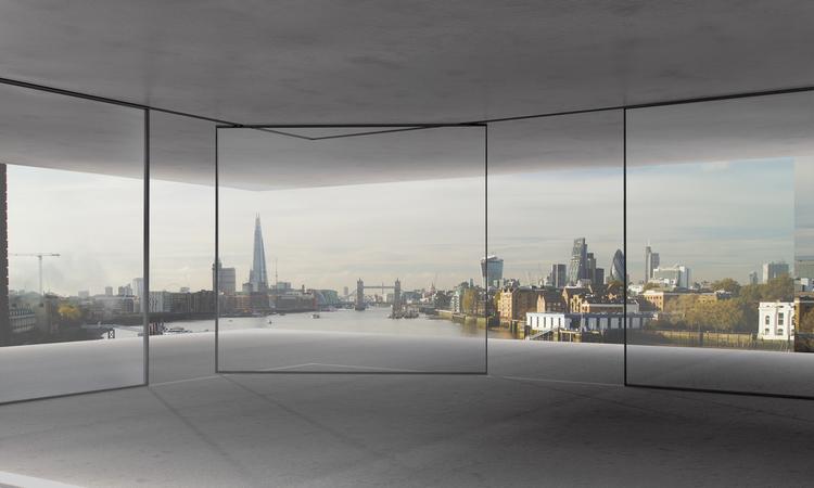 Vitrocsa large glazed turnable corner panel minimal windows not Panoramah
