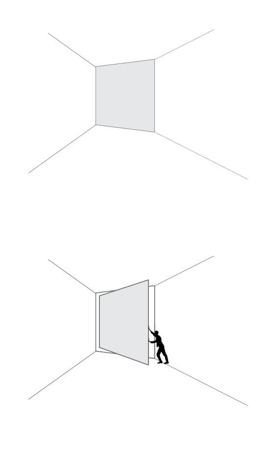 Vitrocsa minimal windows and doors large glazed pivot door not IQGlass