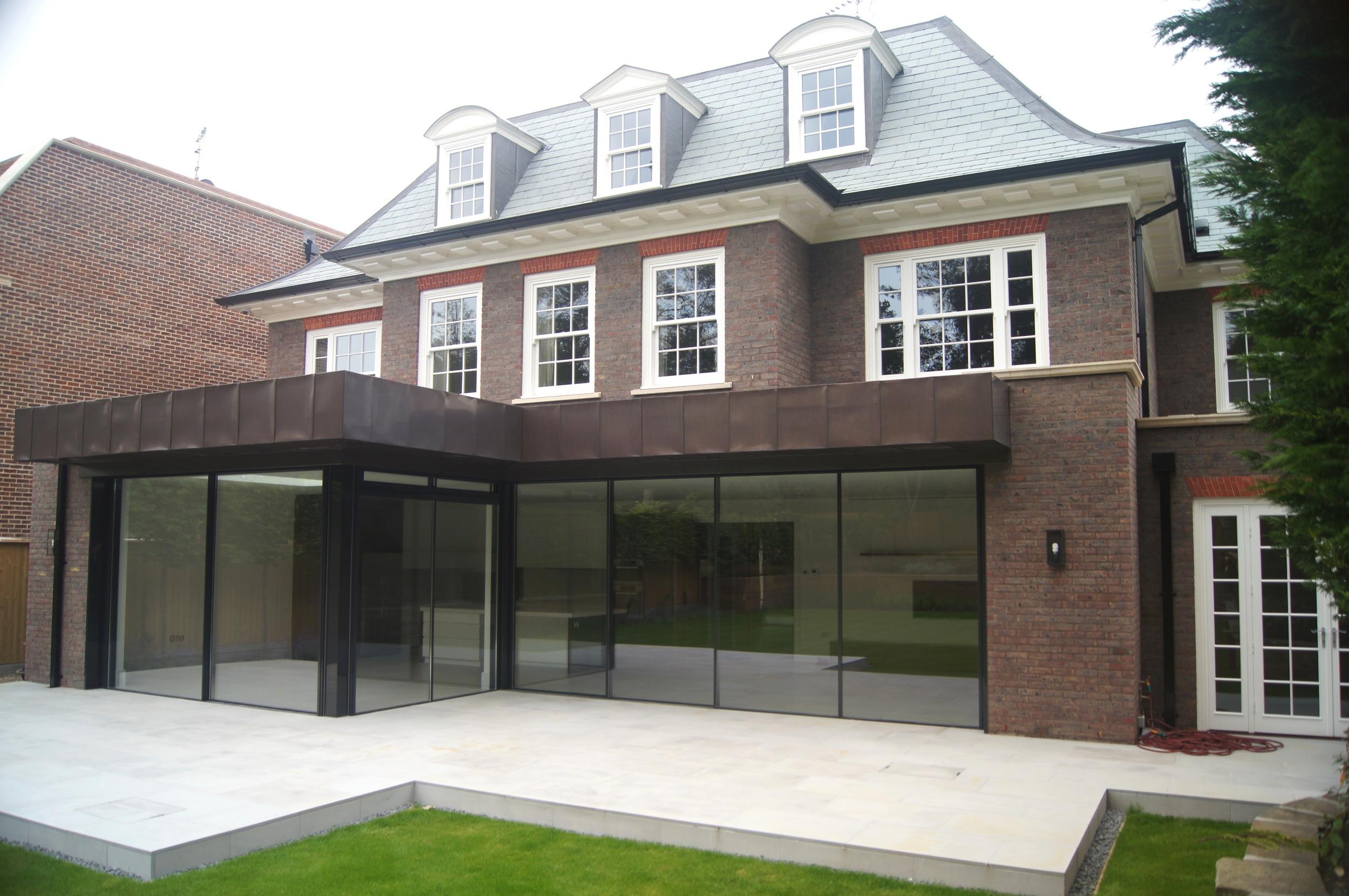 Vitrocsa large glazed sliding panel minimal windows not Panoramah