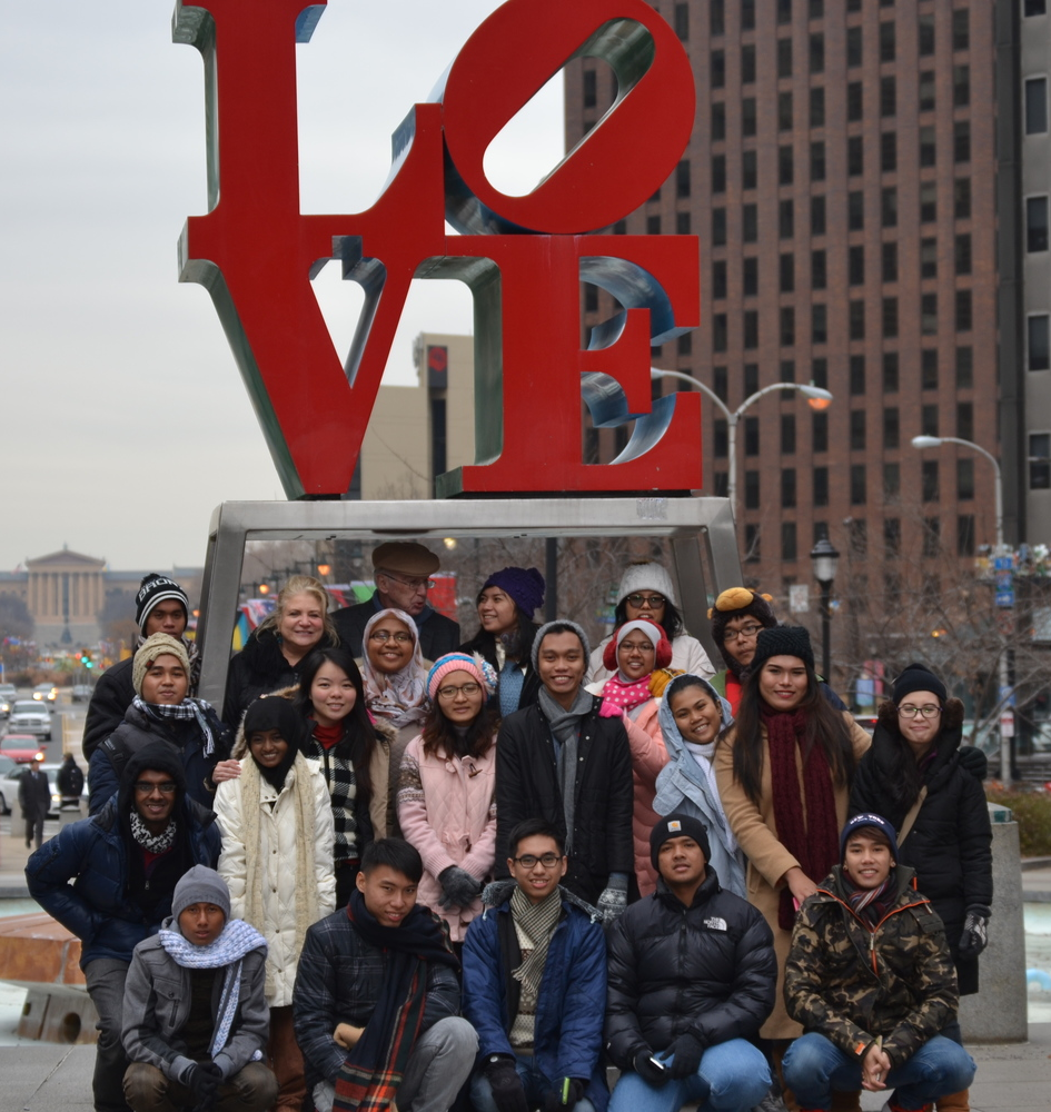 Students from the DI's Winter 2015 SUSI in January.
