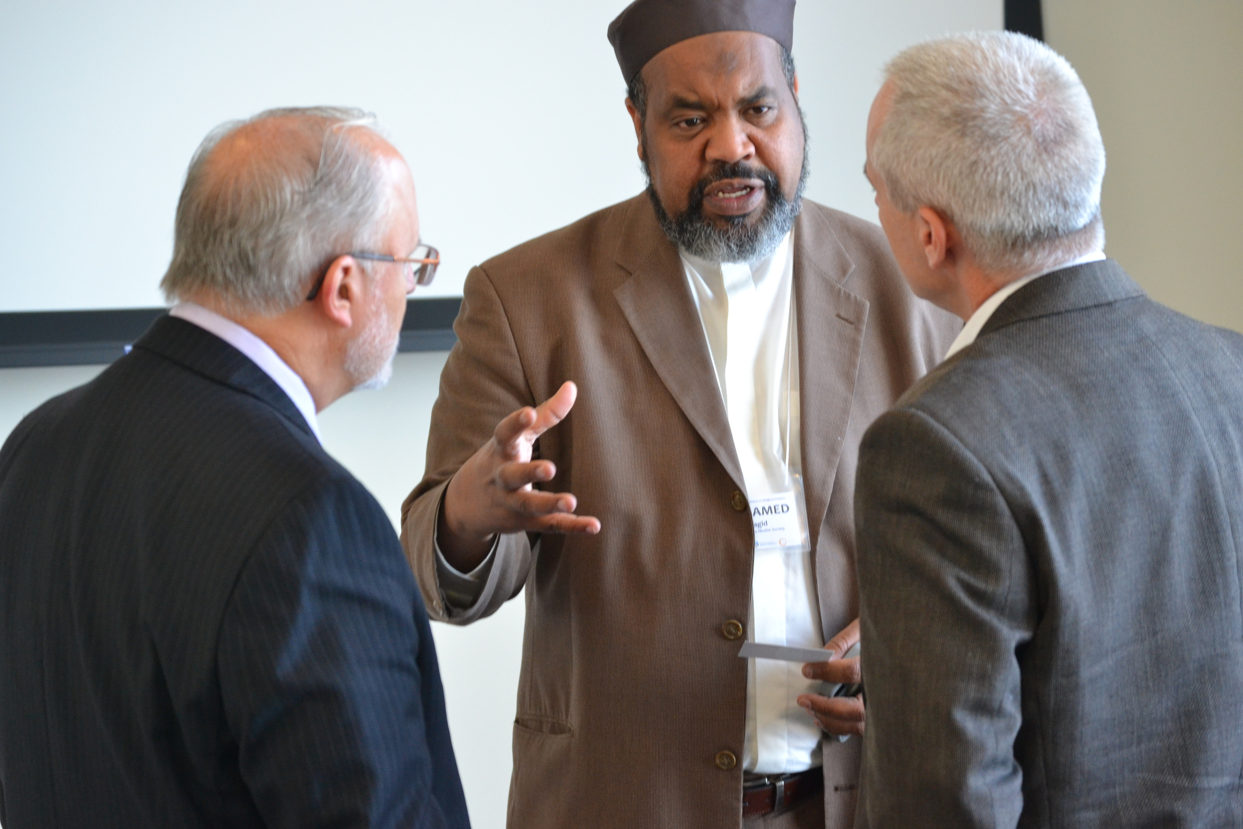 Click the image above to see pictures from the Conference on Religious Freedom and Islamophobia.