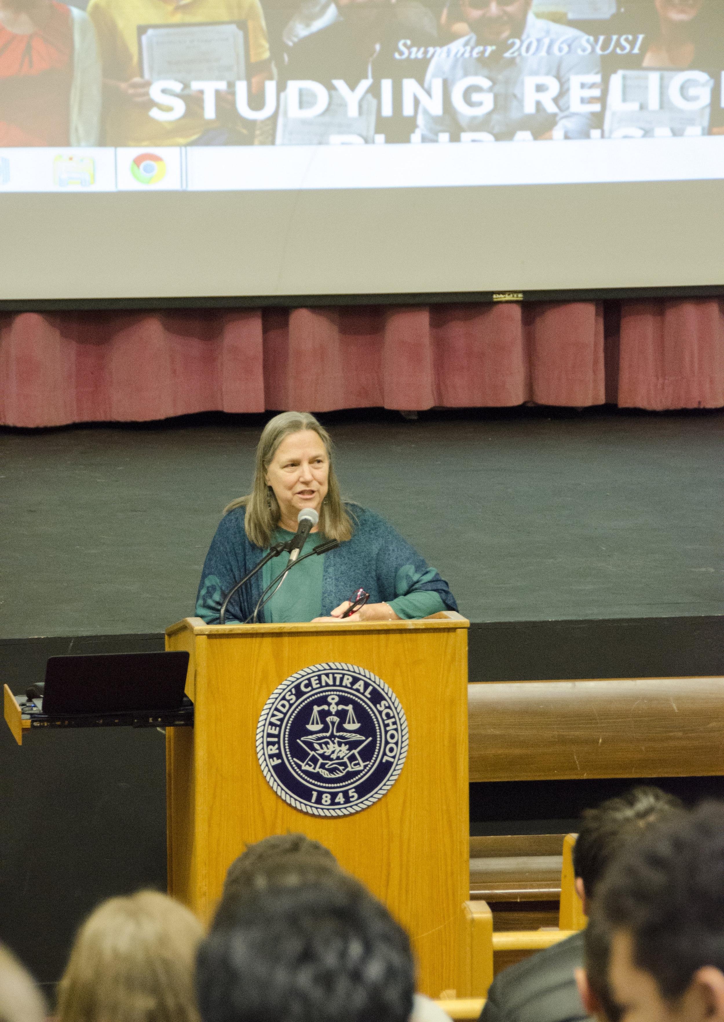 DI Executive Director Rebecca Mays