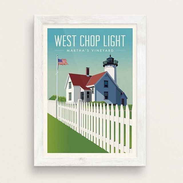 New print up today: West Chop Light, Martha's Vineyard https://etsy.me/2J0nOTX  #marthasvineyard #graphicdesign #poster #print #newengland #lakunadesign https://etsy.me/2kCZiJK