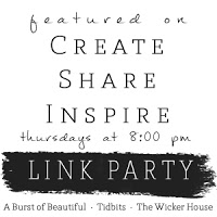 Come see up the Wicker Houses 6th link party! =] Get inspired!