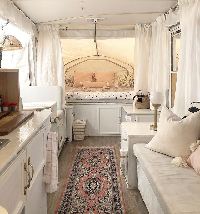 Hey! So on the last post we posted that one of our hobbies is renovating campers and here is another. This is a pop up camper that we renovated, what do you guys think? . . . #kismetcheckoutmyhouse #popupcamper #camper #popuptrailer #popupcamping #popupremodel #popuplife #popupcamperlife #camperremodel #camperremodeling #tinyliving #camperrenovation #camperlife #glampinglife #glampingnotcamping #glampers #glampergirl #glamperlove #camping #campground #southhavenkoa #koacamping