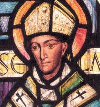 St Anselm (b. 1033), Archbishop of Canterbury (1093-1109)