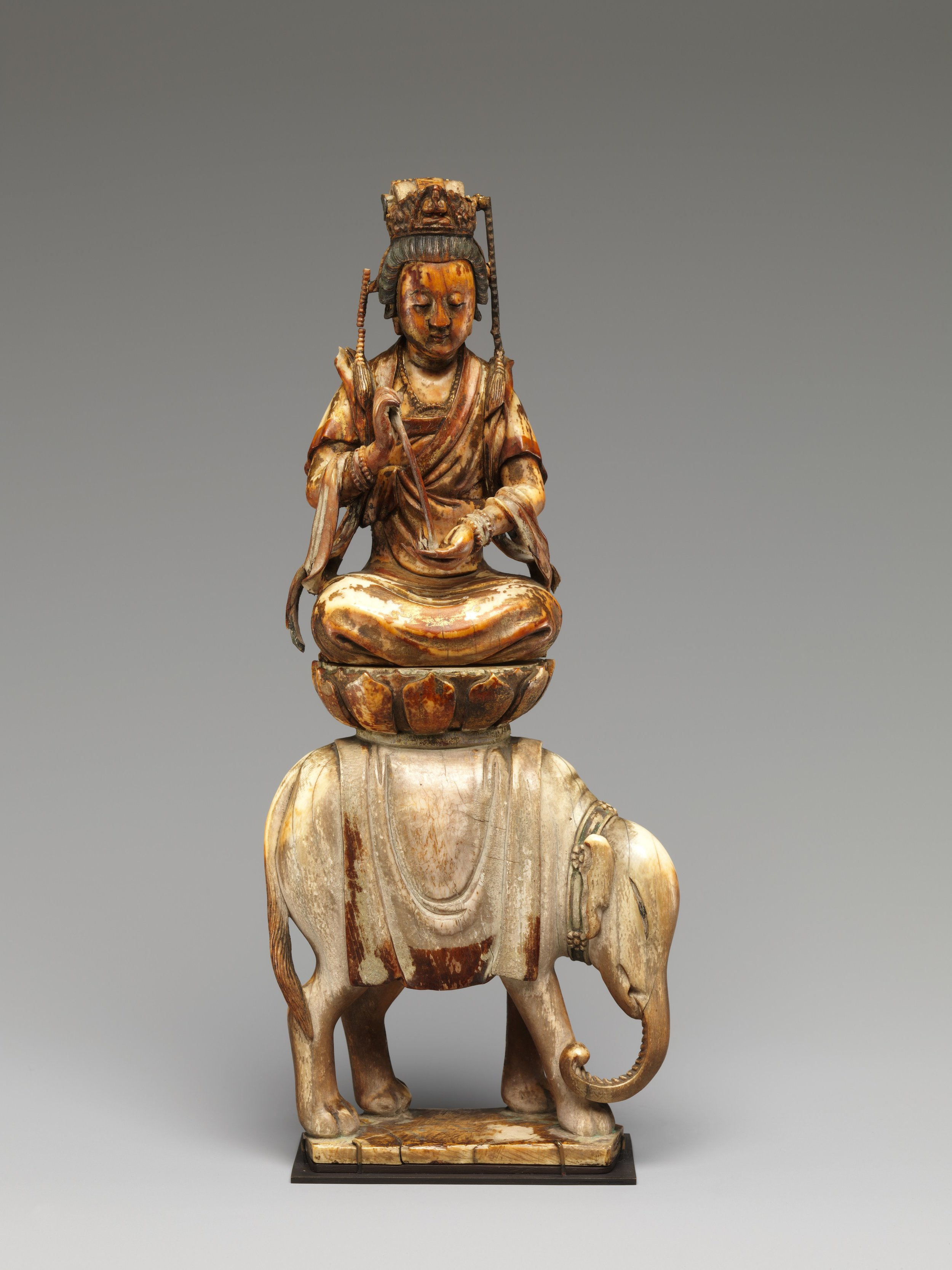 Bodhisattva Samantabhadra (Puxian). 12th-14th century. Southern Song to Yuan dynasty. China. Image courtesy of  The Met .