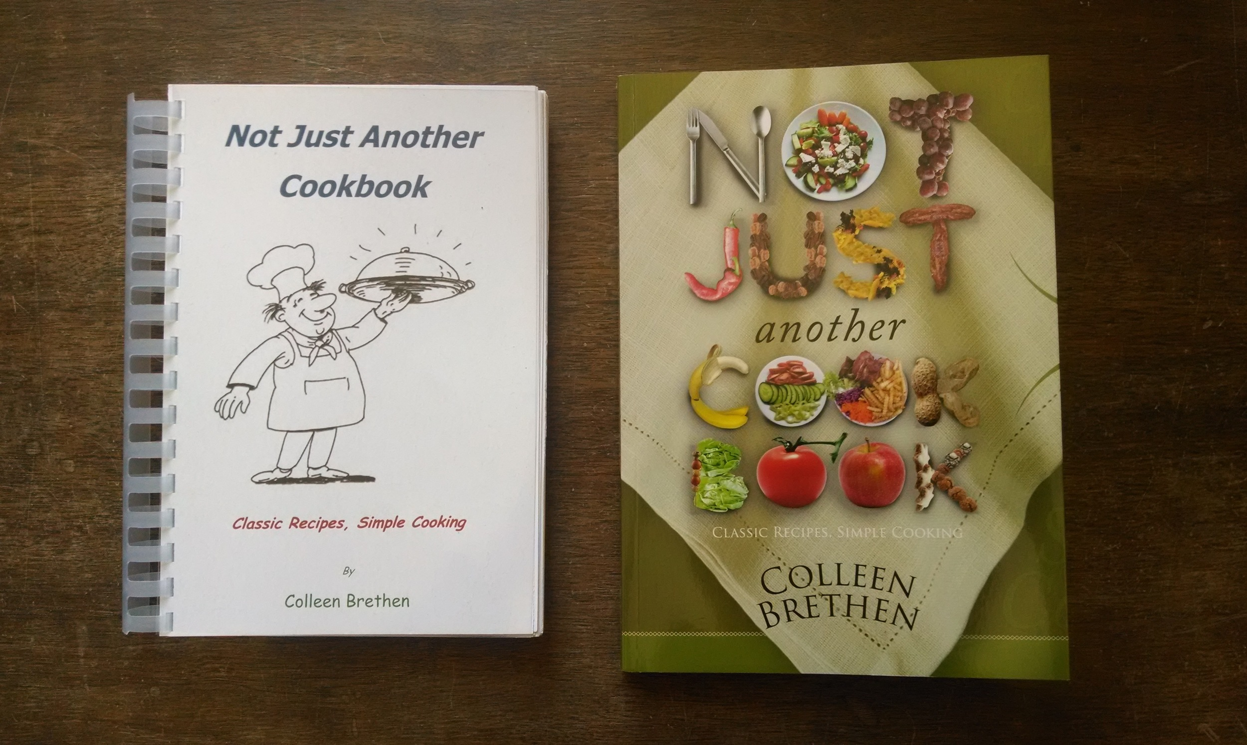 book publishing services, Not Just Another Cookbook