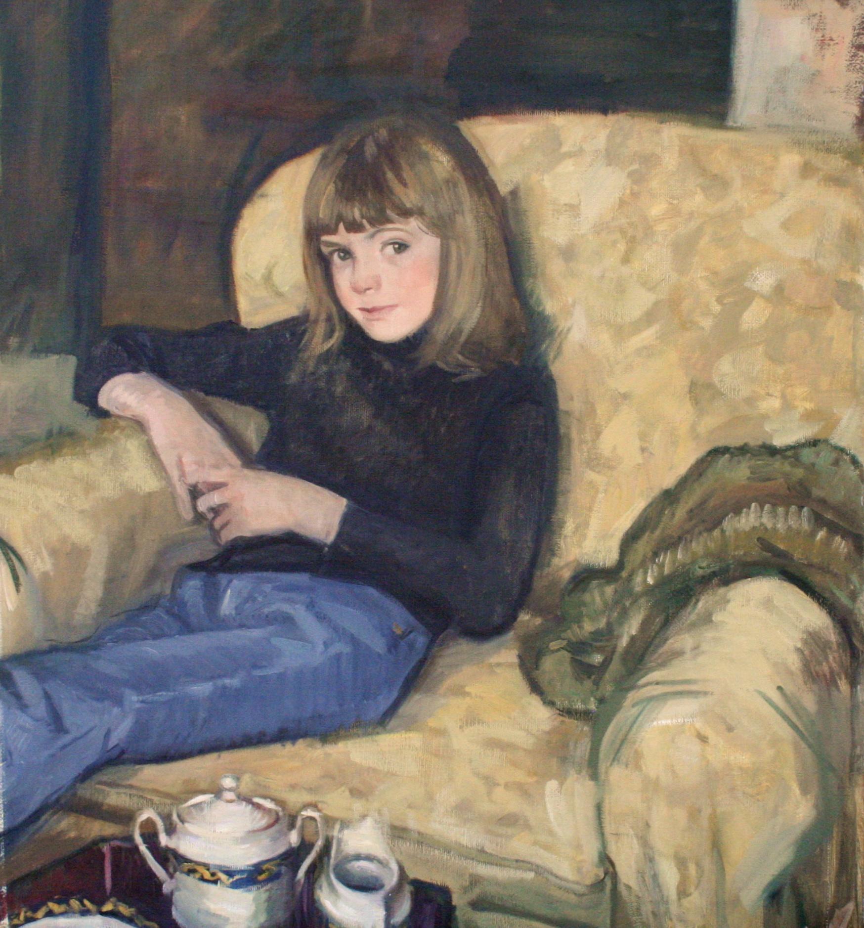 Ryan, Oil on canvas, 32X30