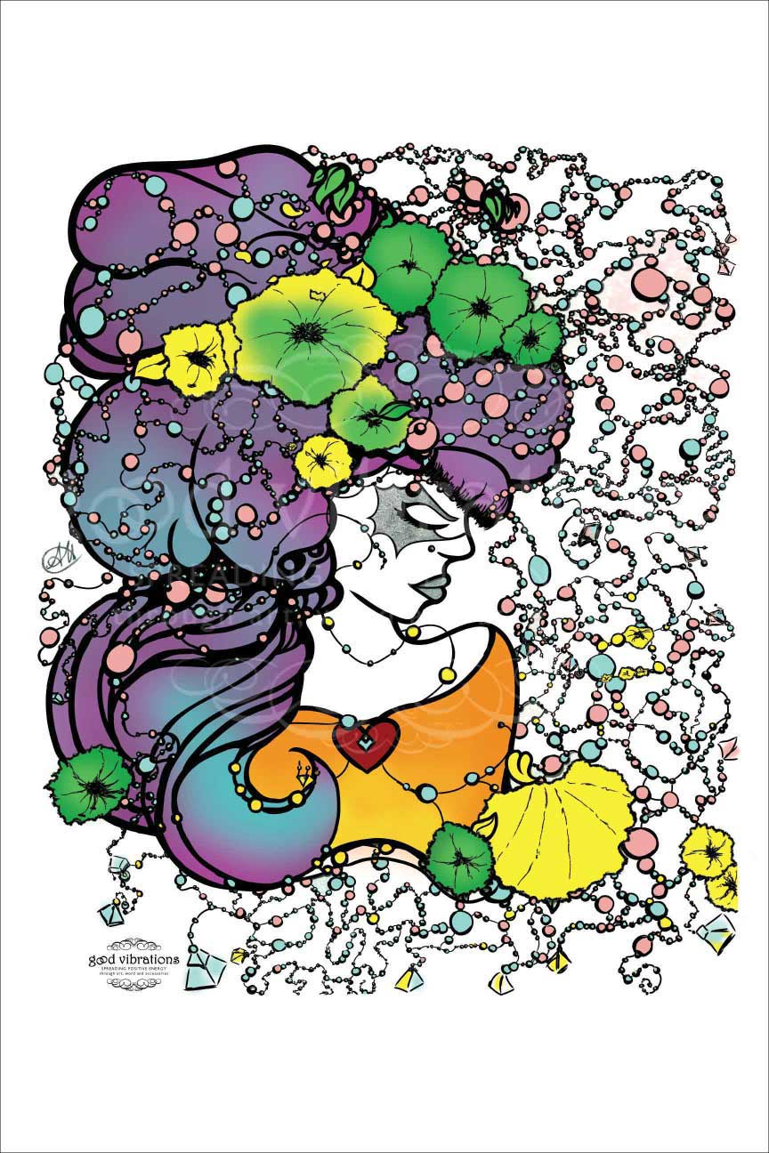 """The Creative Mind  """"The Creative Mind"""" was first created over the course of 3 days using a variety of mediums. We all have a greatness inside us and need only to brave our fears and gain self confidence to talk ahold of our energy.      - click to see the full piece and discover the creation process behind """"The Creative Mind"""" -"""