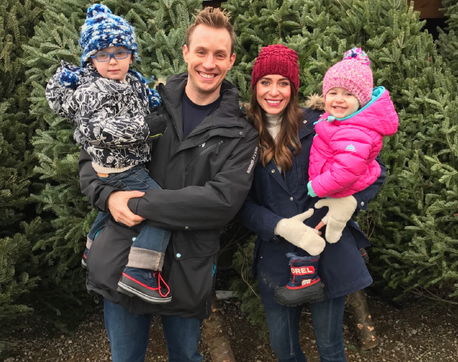 Steve and Jen Swanson (and their kids), of Tomorrow's Harvest