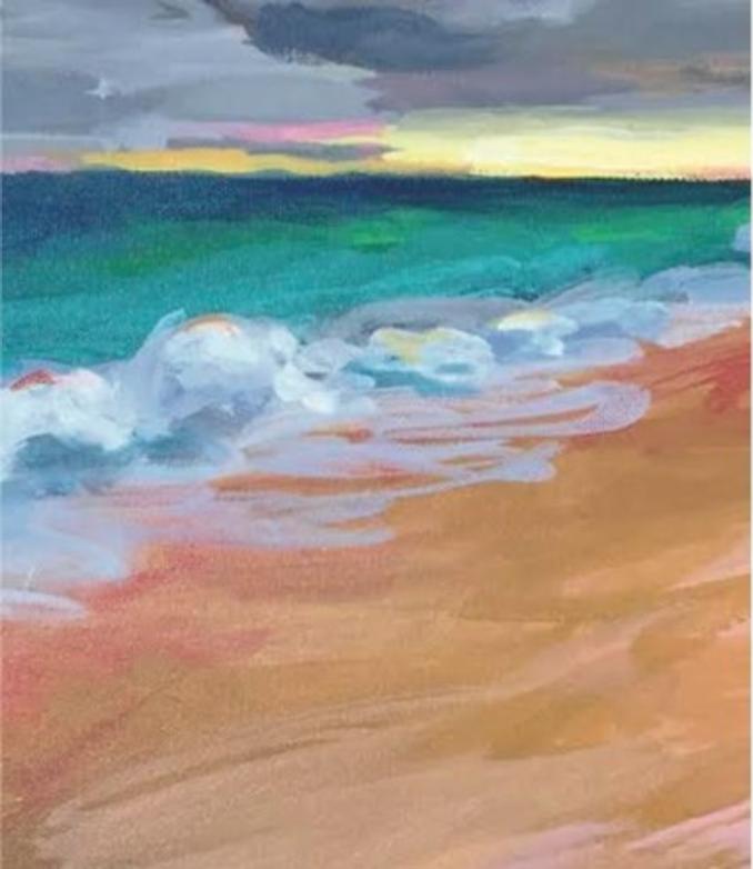 Painting by Lisa Katzenstein