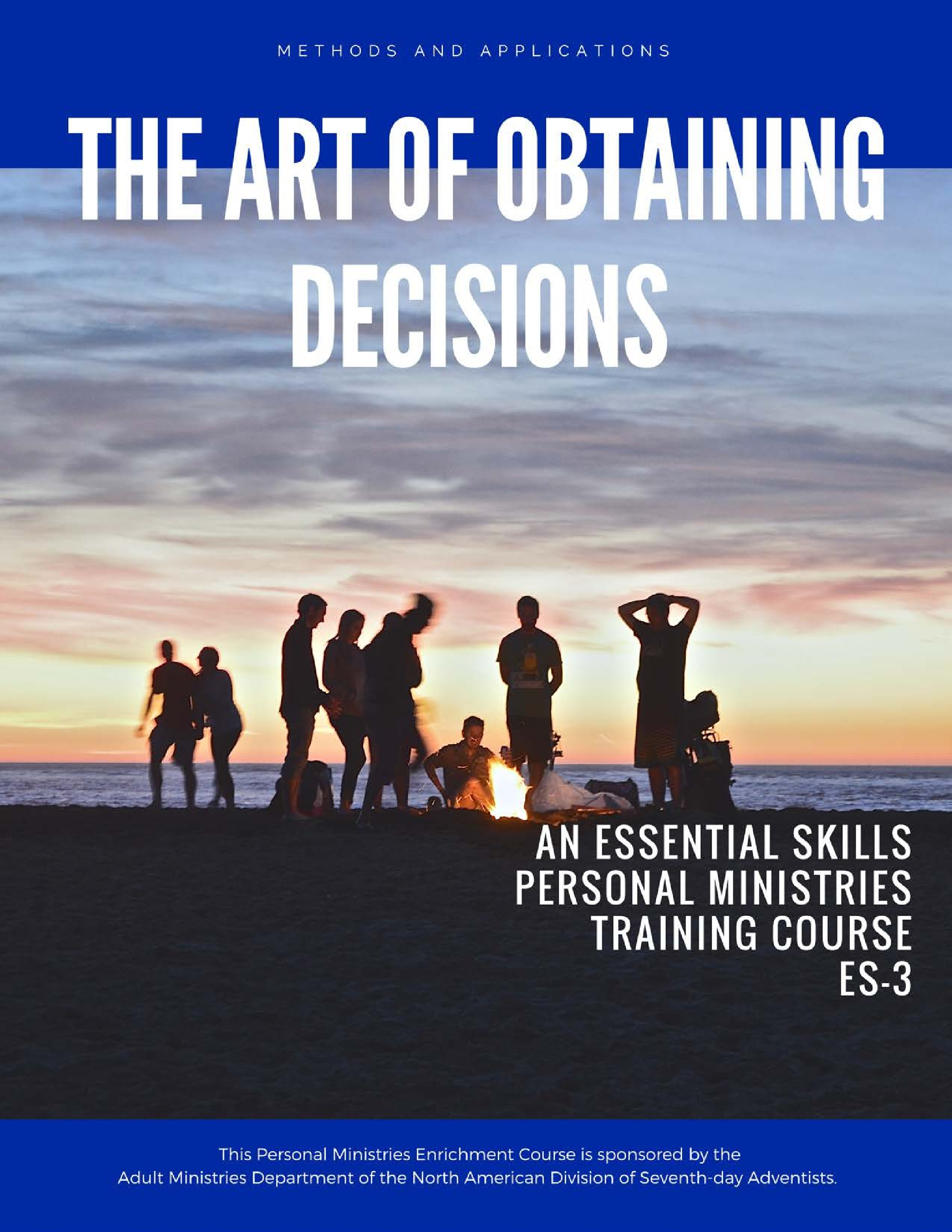 This course is about the art and process of helping people make a decision based on what they have studied and learned. -                                                    Click the cover to view>>