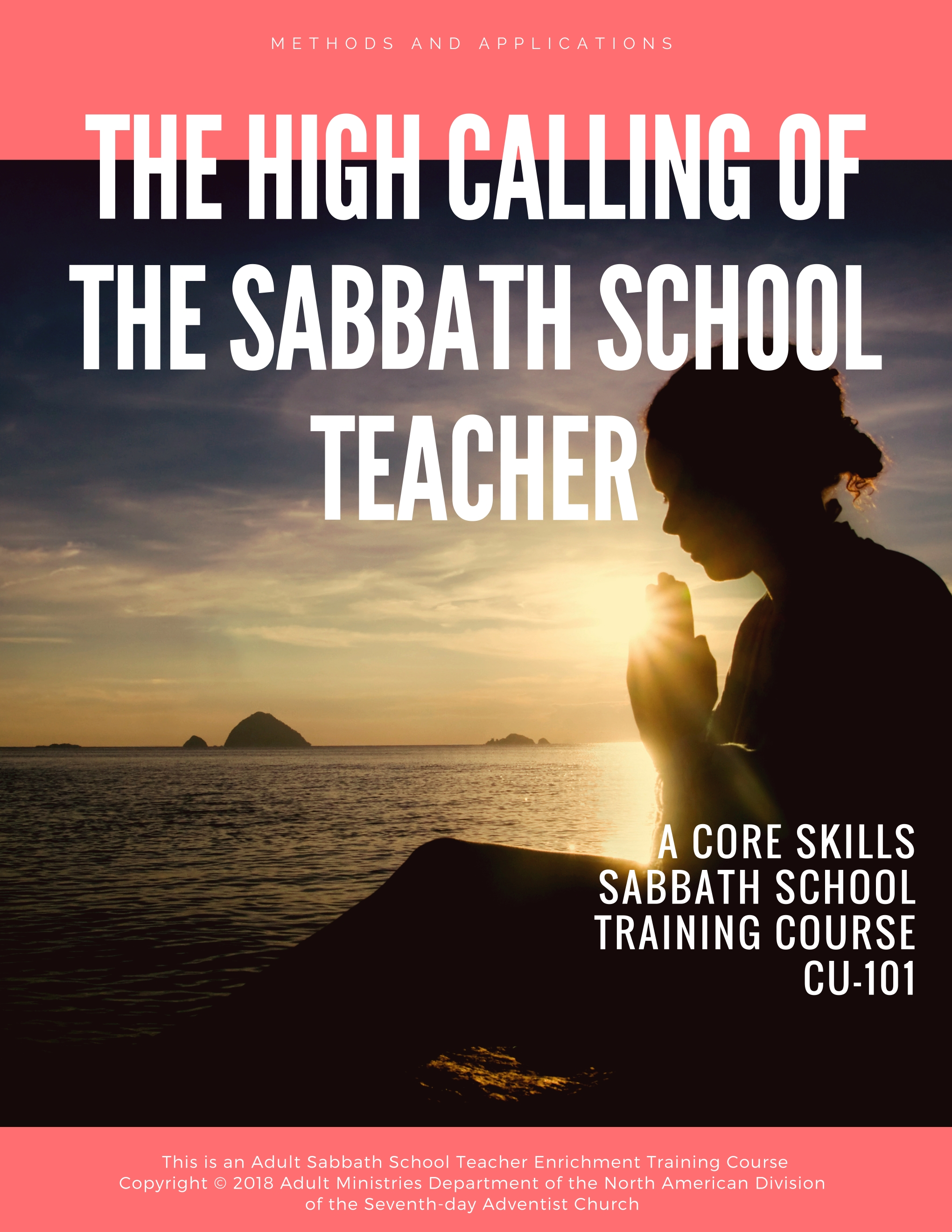 In this course the teacher will acquire a knowledge and understanding of his or her spiritual impact within the context of Sabbath School teaching, including what the Bible says about wisdom, sphere of influence, personal spiritual growth, and attitude. - <<<CLICK COVER TO VIEW