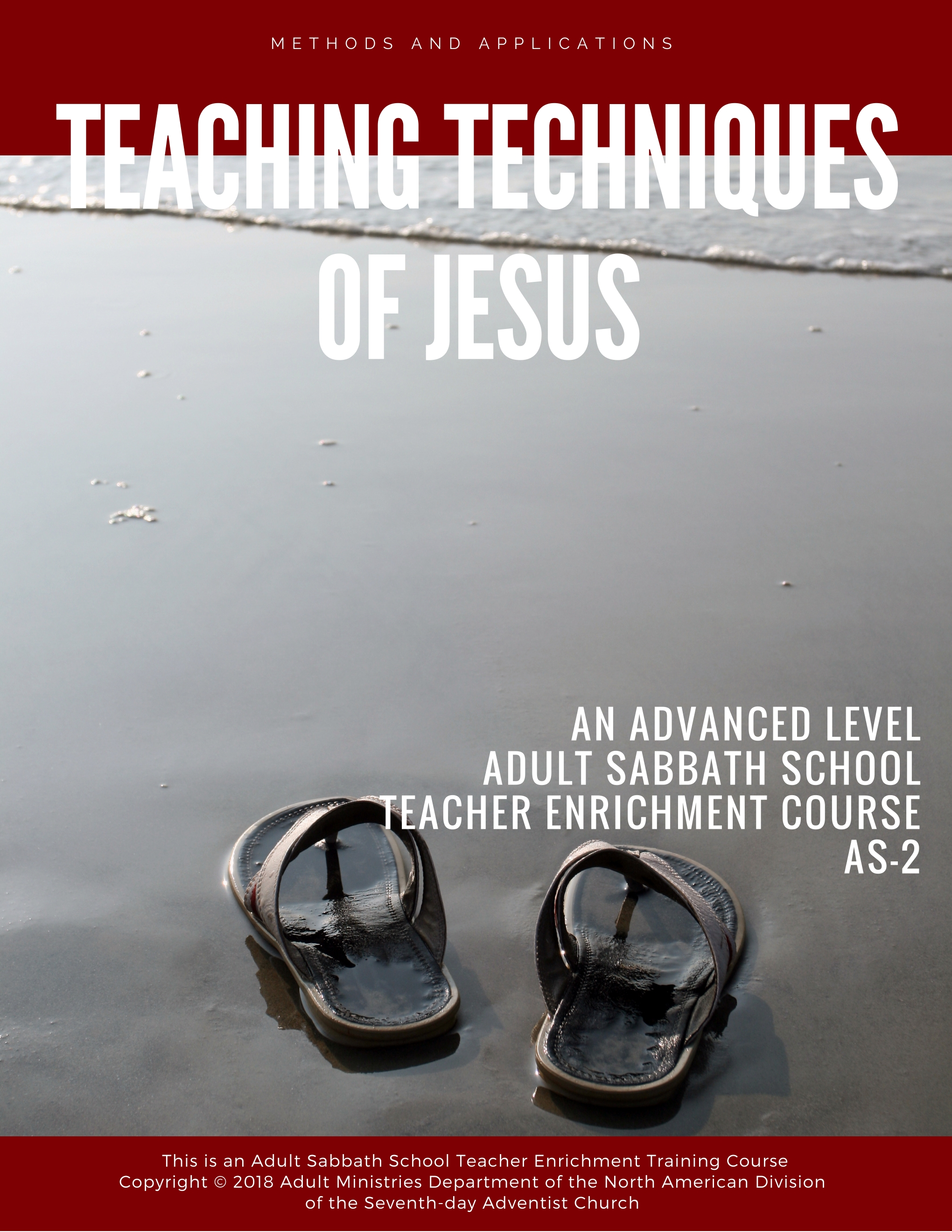"This course on The Teaching Techniques of Jesus is a combination of ""knowing""and ""doing"". It deals with the teaching and learning methodology used by Jesusand His ways of dealing with people. - <<<CLICK COVER TO VIEW"