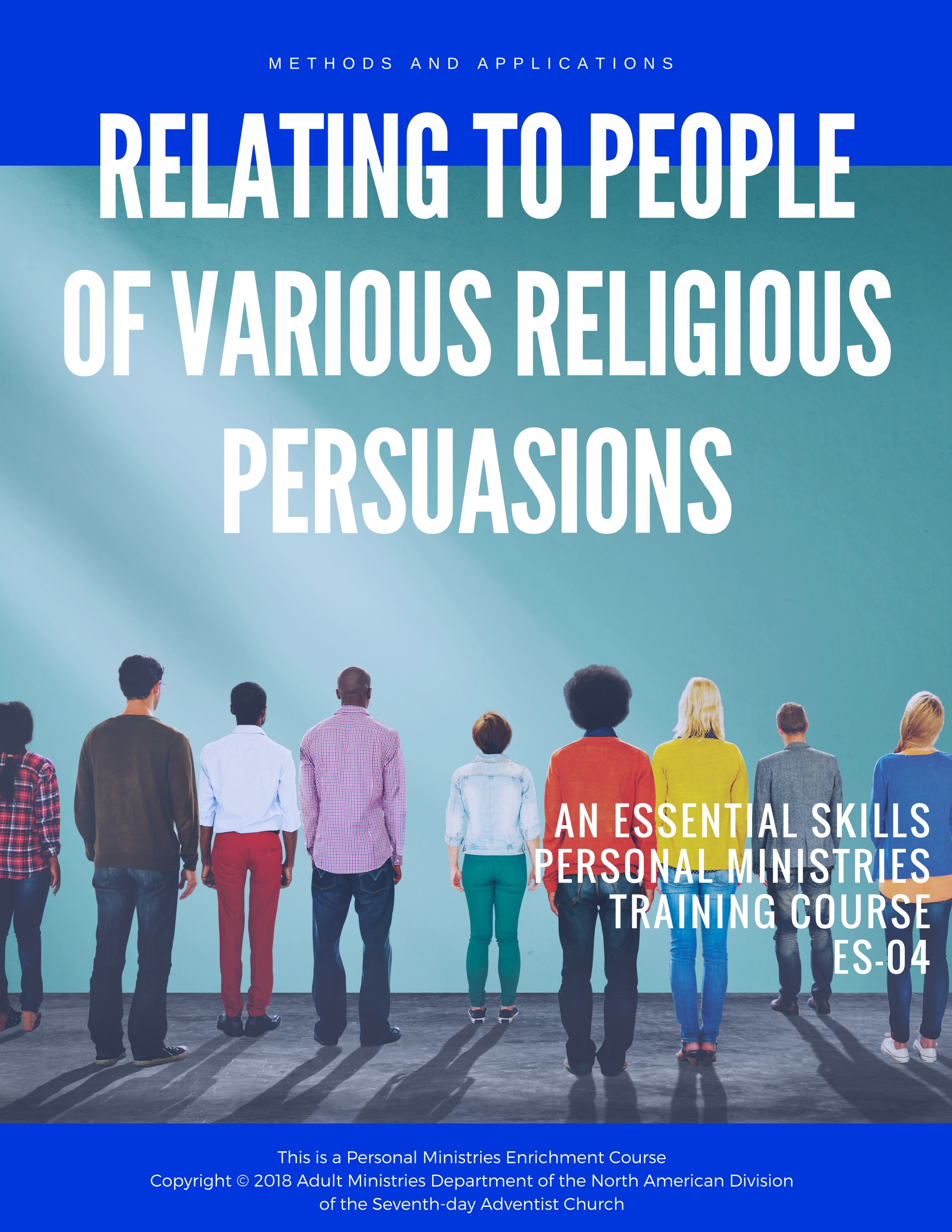 The objective of this course is to gain an understanding of belief systems encountered in giving Bible studies, presenting evangelistic sermons, or in a personal ministries participant conversation with anyone on religious topics. - <<click the cover to view