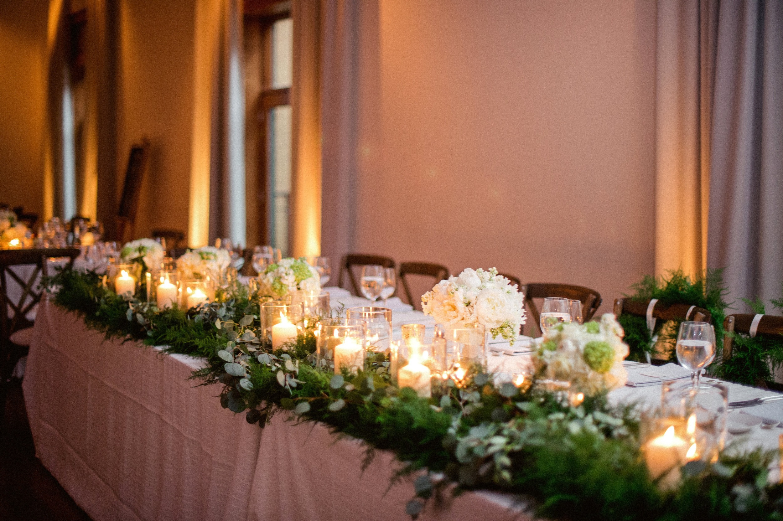 Flowers by Fleur Inc, photo by Amanda Megan Miller, with Jayne Weddings at the Ivy Room