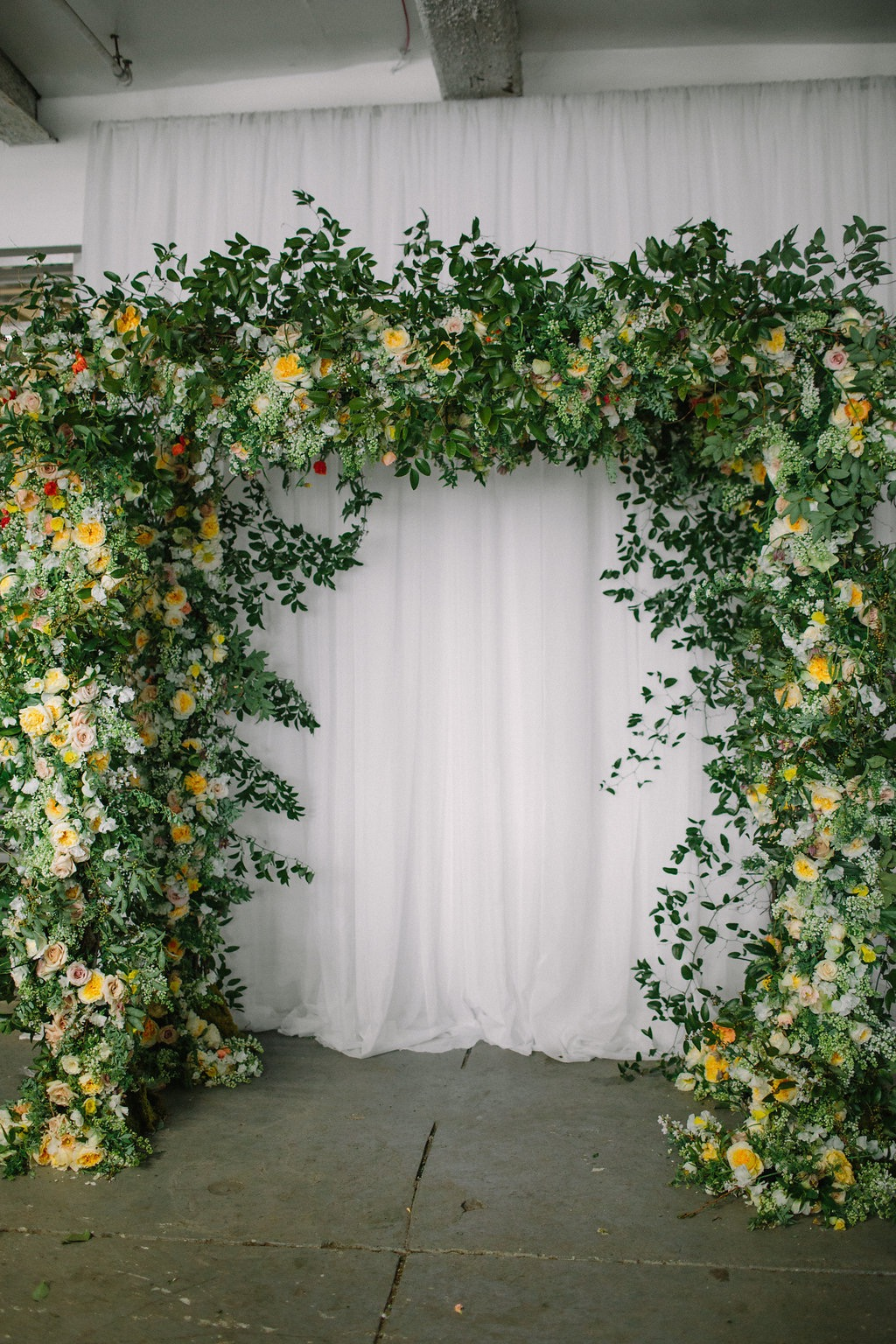 Group Chuppah Design at the Holly Chapel workshop