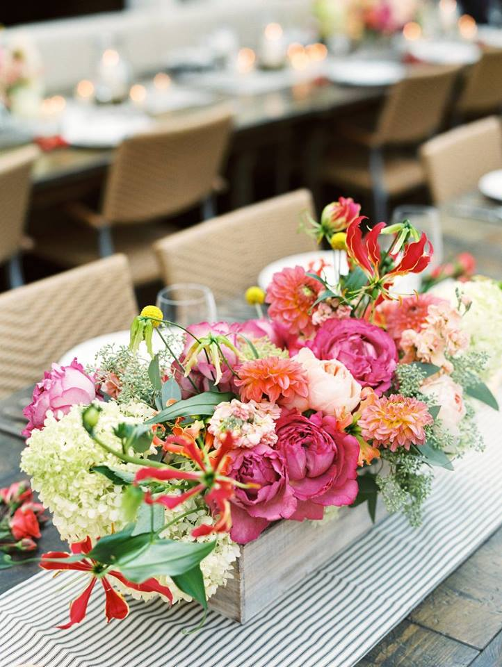 Flowers by Fleur Inc, Coordination by Estera Events, Image by Kina Wicks Photography