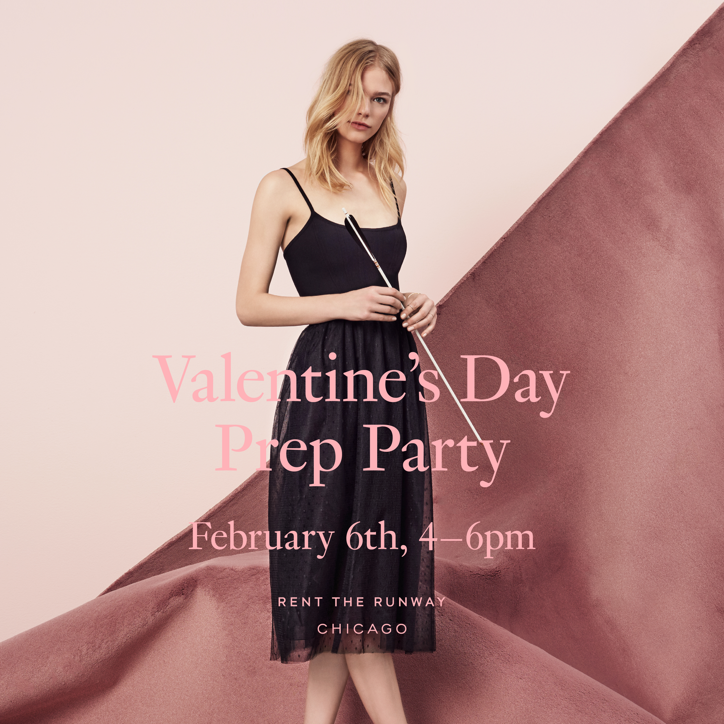 Rent the Runway Valentine's Day Pop up with Fleur