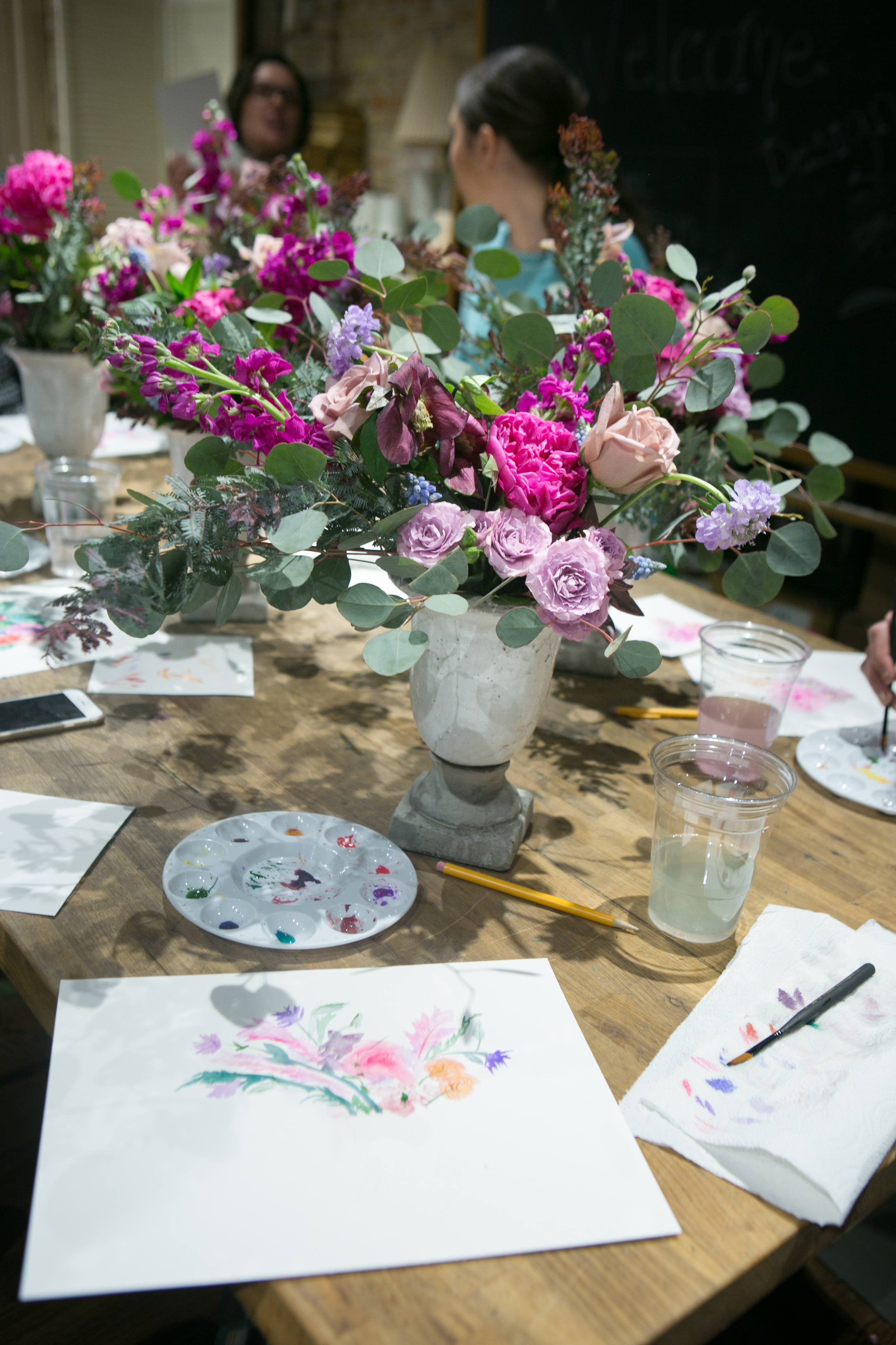Fleur Workshops, Photo by Jennifer Kathryn Photography