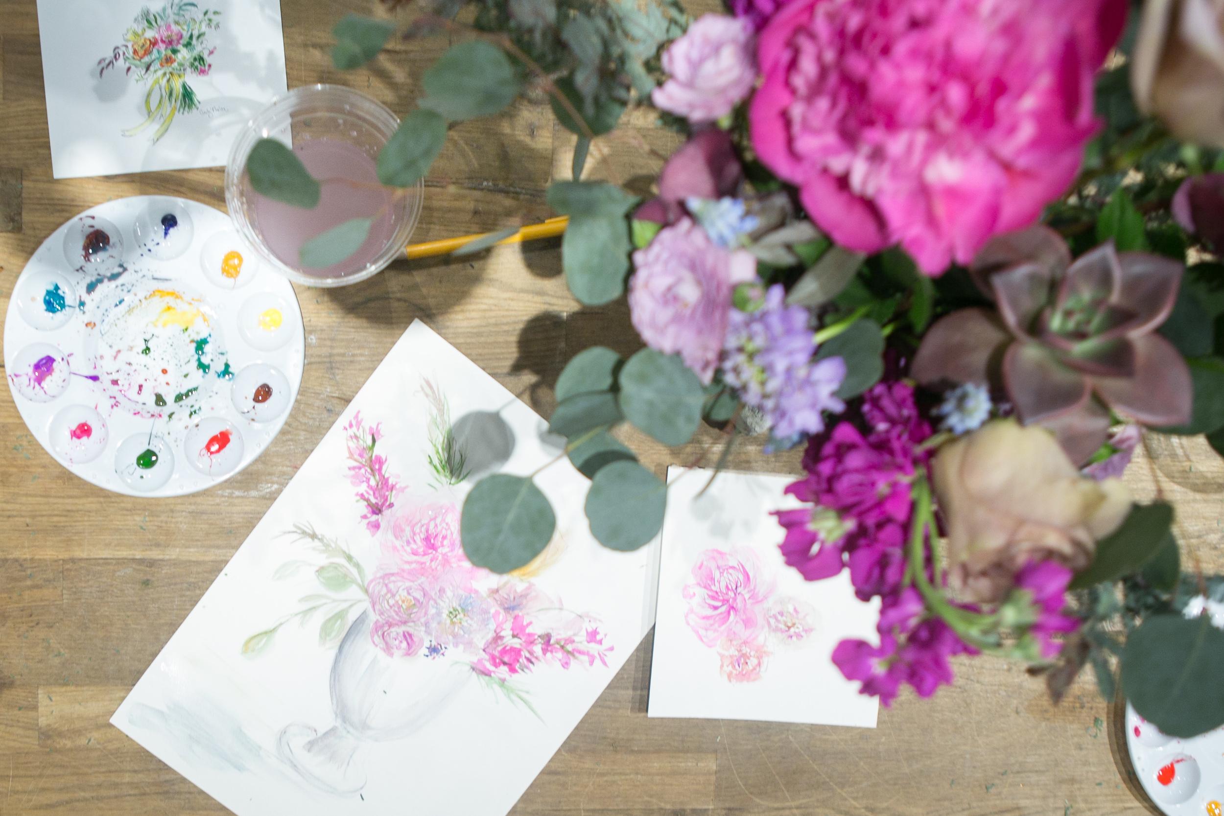Fleur Workshops, Photo by Jennifer Kathryn Photography