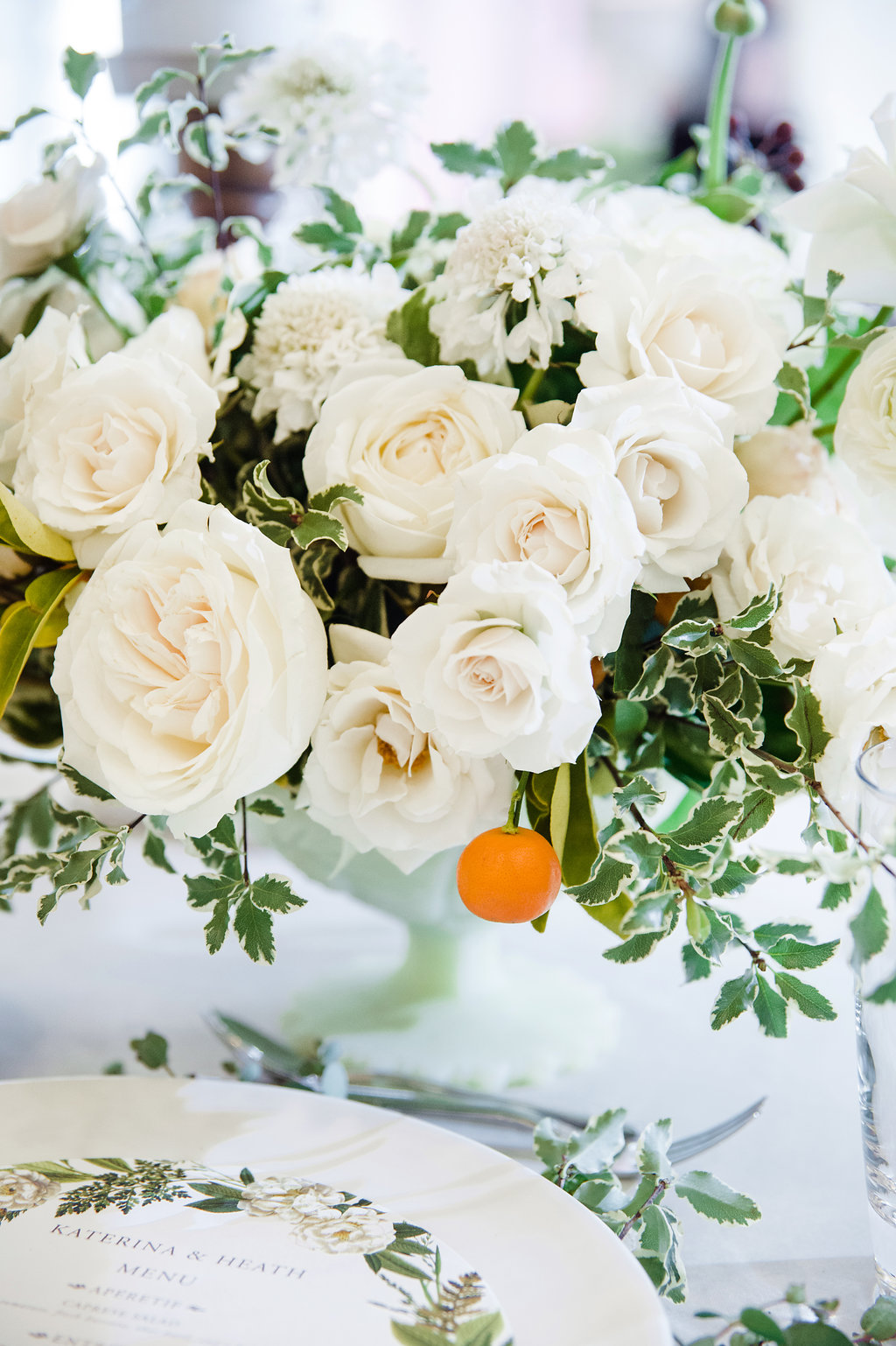 Flowers by Fleur Inc, photo by Amanda Megan Miller Photography