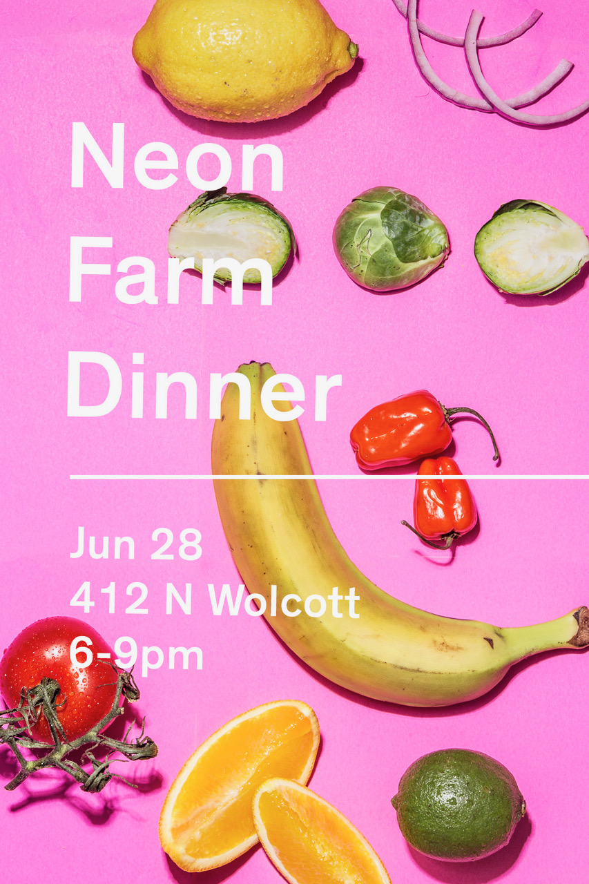 Farm dinner at Big Delicious Planet