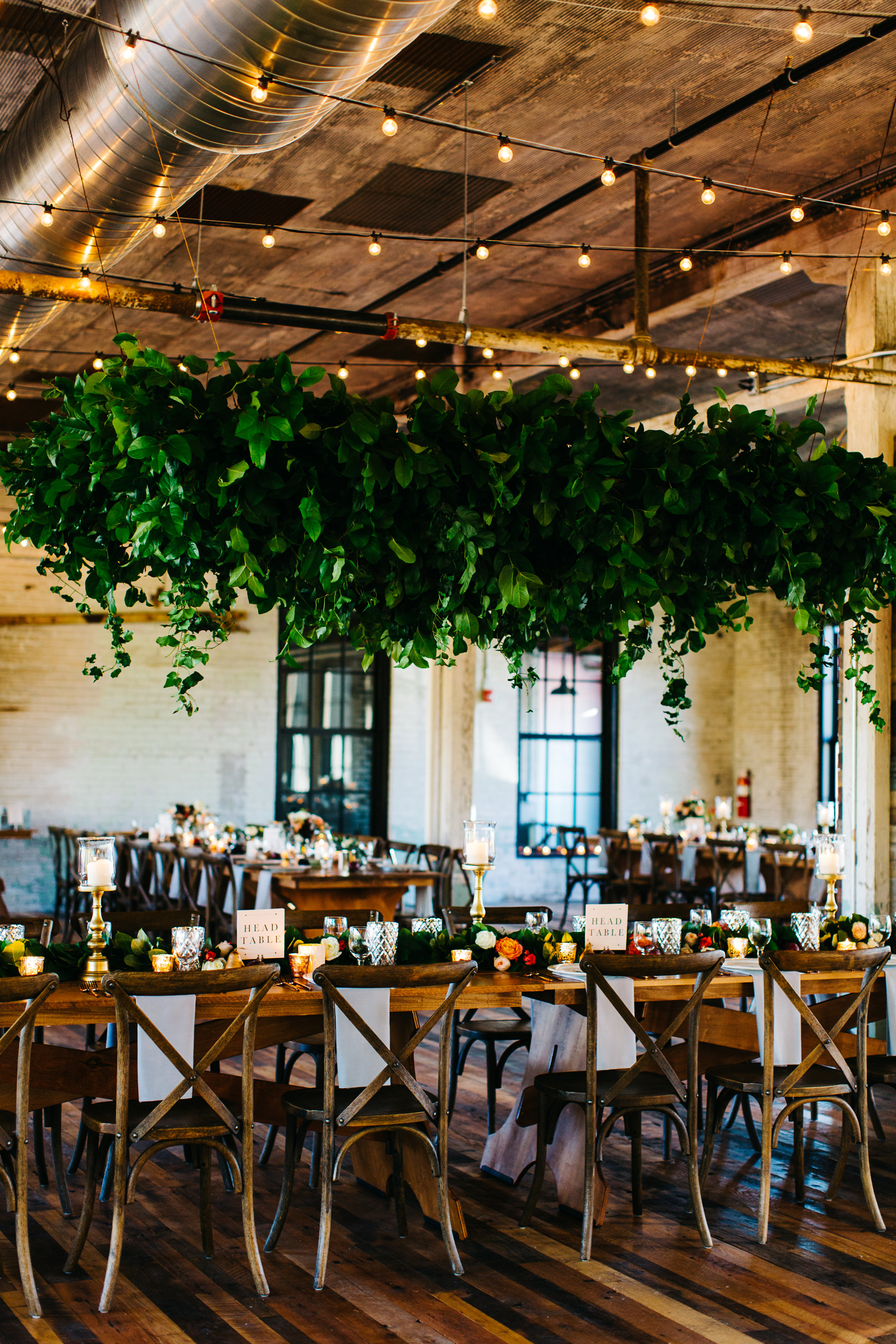 Flowers by Fleur Inc, Photo by Pen Carlson, Planning by Estera Events, Wedding at Journeyman Distillery