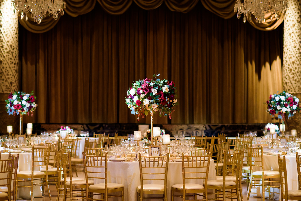 Fleur-Inc-In-Style-Weddings-Press-December-Wedding-SQN-Events-Avery-House-The-Drake-Hotel-Tall-centerpiece