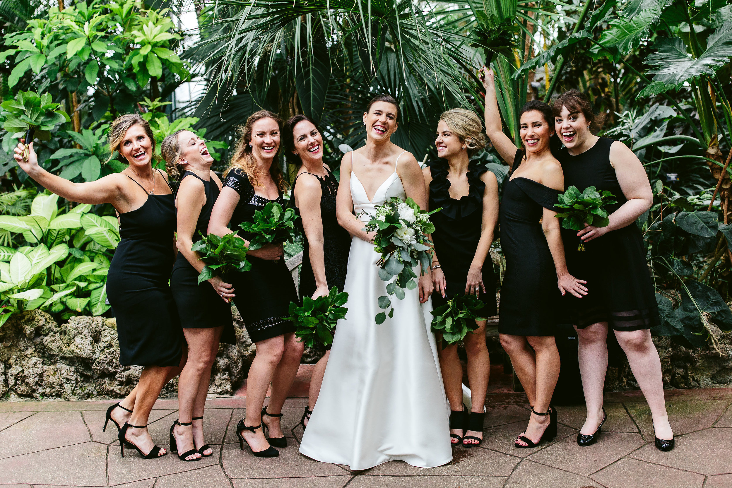 Fleur-Inc-Nicodem-Creative-Estera-Events-Lula-Catering-Joinery-Logan-Square-Wedding-Bridsmaid-Bouquets