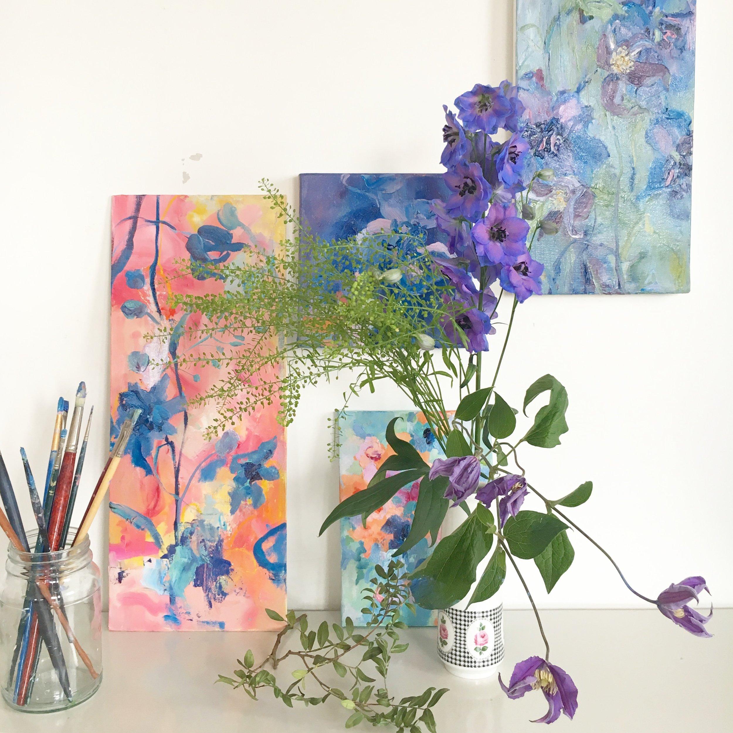 Sonal Nathwani & Fleur Design Class