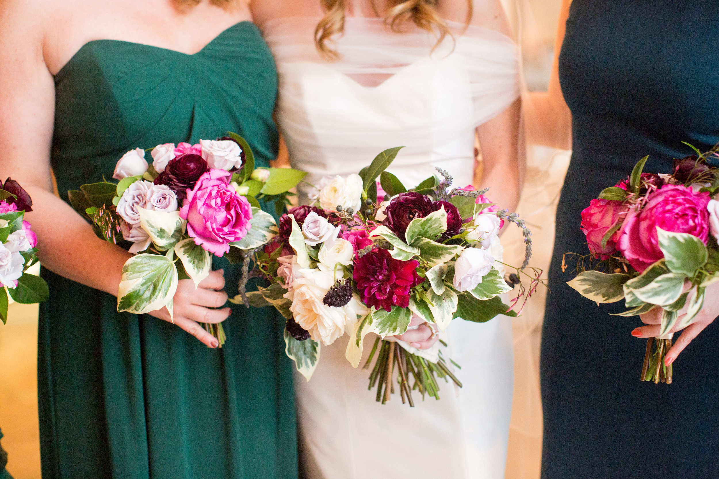A lovely, Chicago bride and her sweet bridesmaids at Artifact Events for this April wedding.  Flowers by Fleur Inc, photo by Olivia Leigh Weddings, and planning by LK Events.