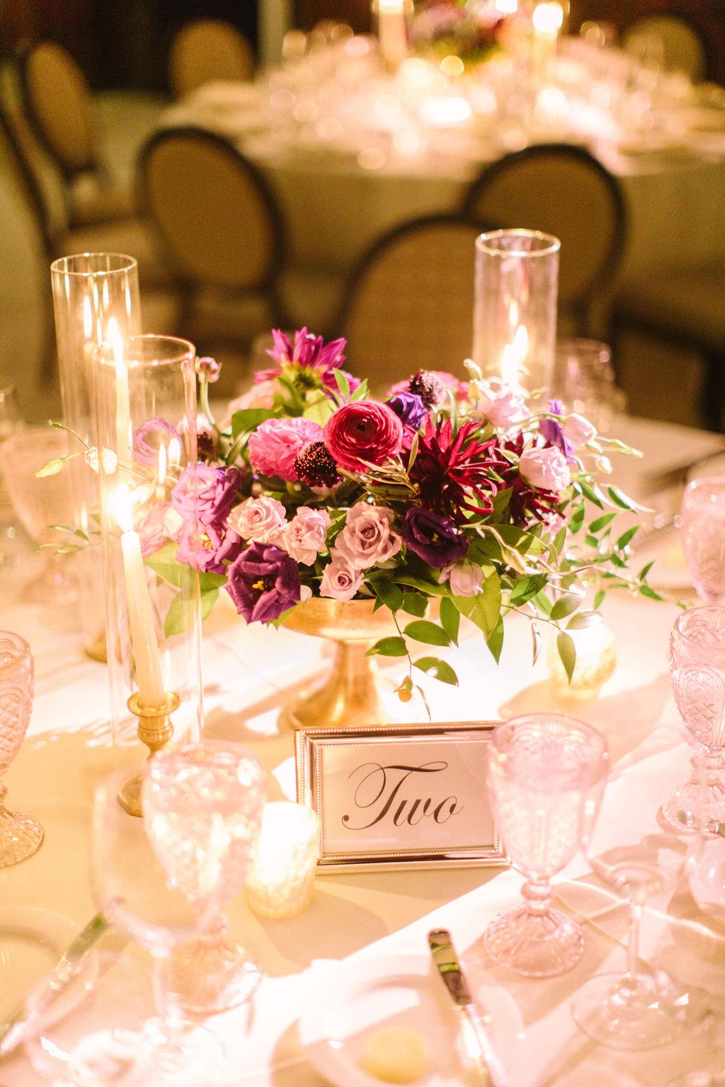 Flowers by Fleur Inc, Photo by Tim Tab Studios, Venue Chicago Athletic Association Hotel