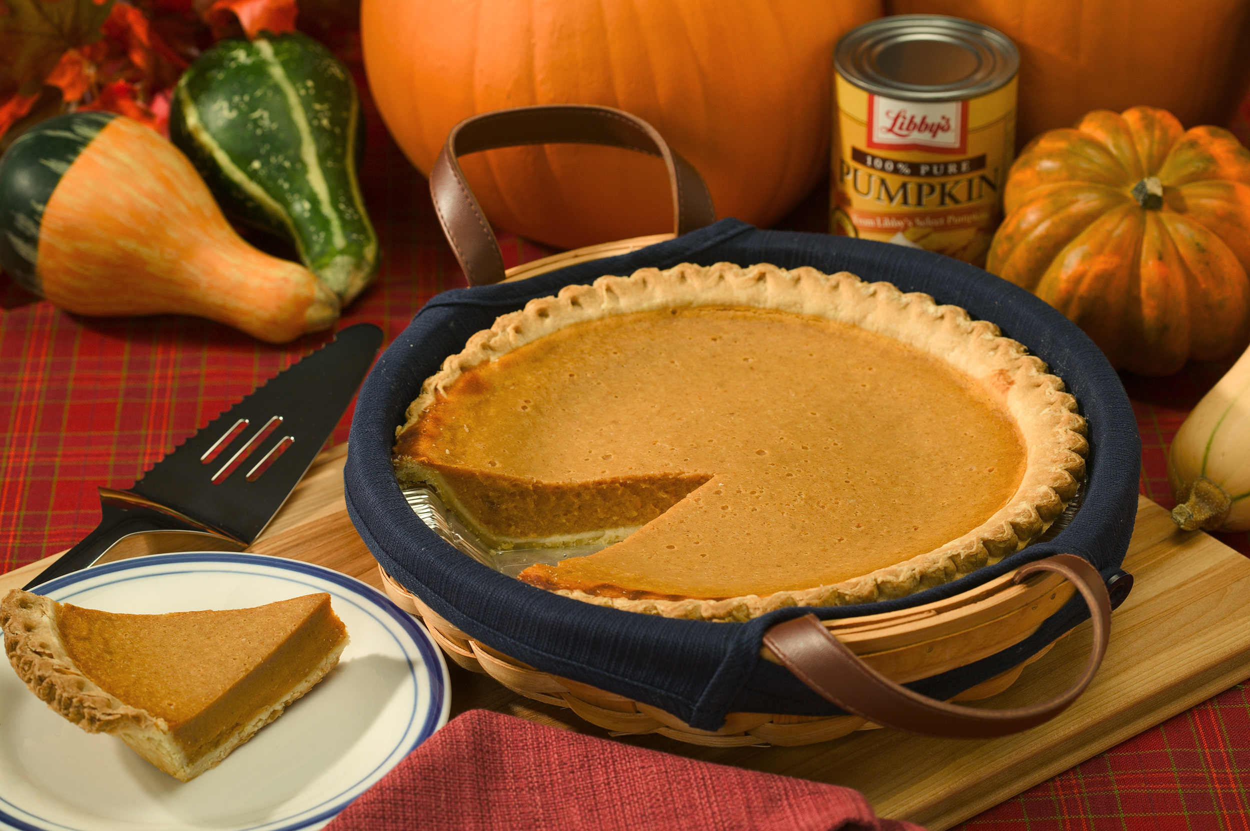 We hope that your pumpkin pie is delicious, no matter what variety of cucurbits end up in it!