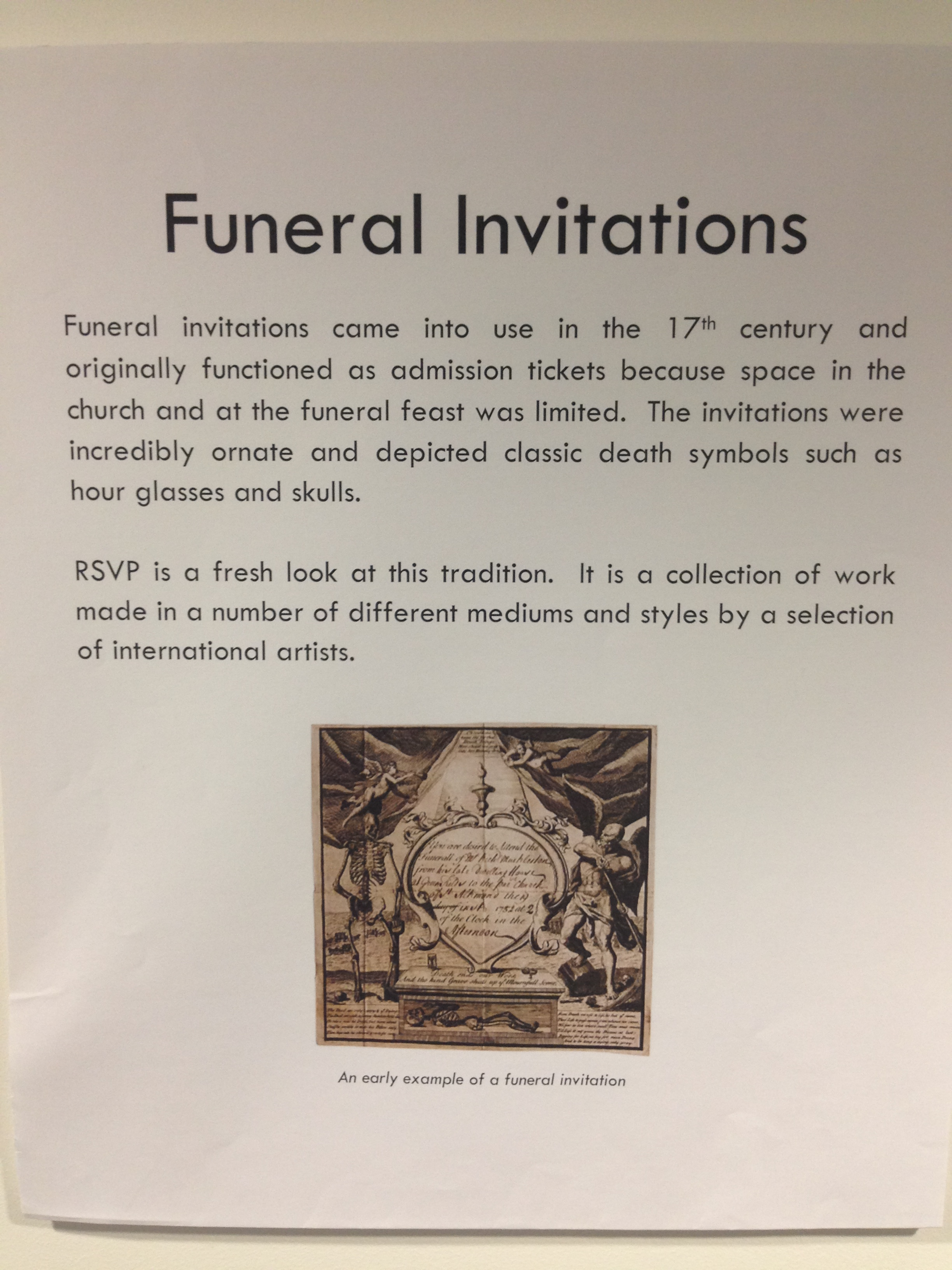 RSVP Funeral Invitation Exhibition' at the Digital Legacy Conference.jpg