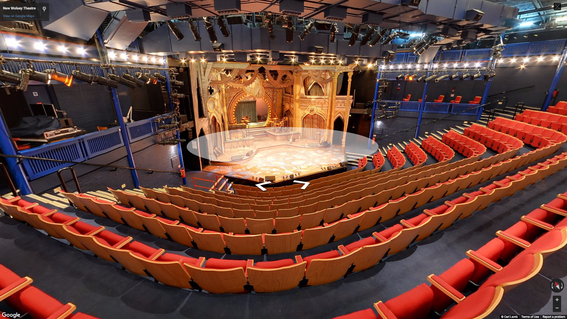 New Wolsey theatre using Google street view for your business