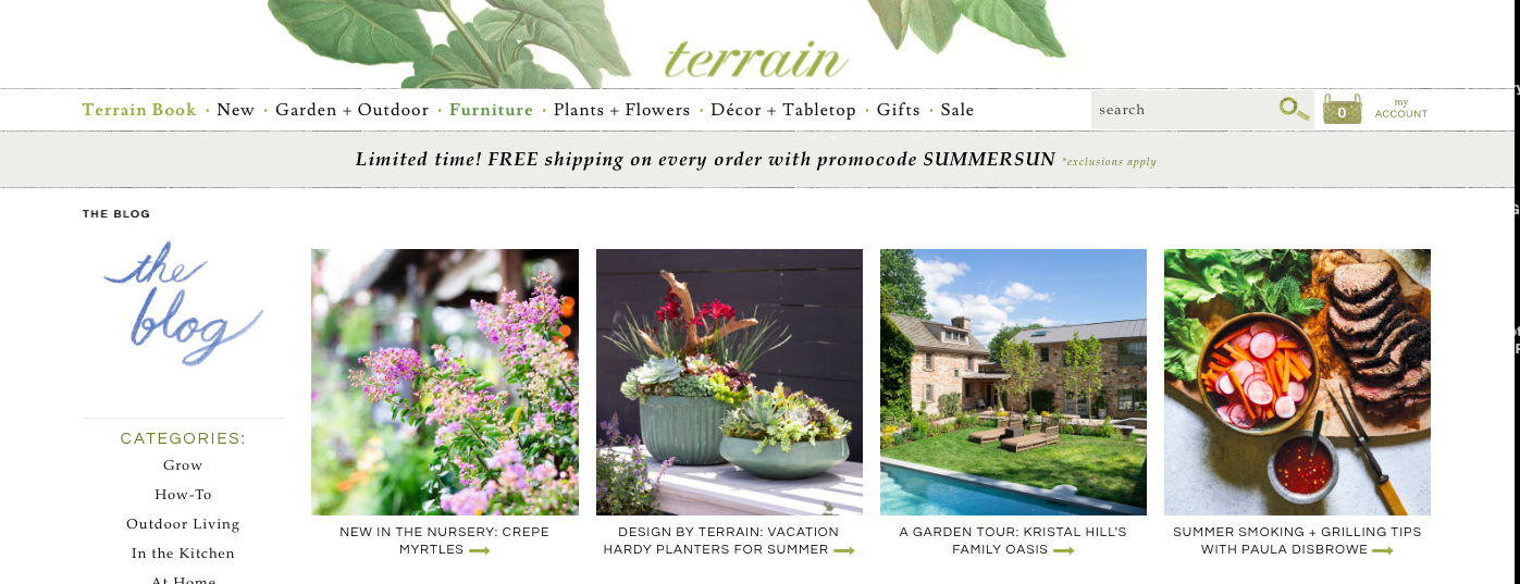 Collection of house + garden articles