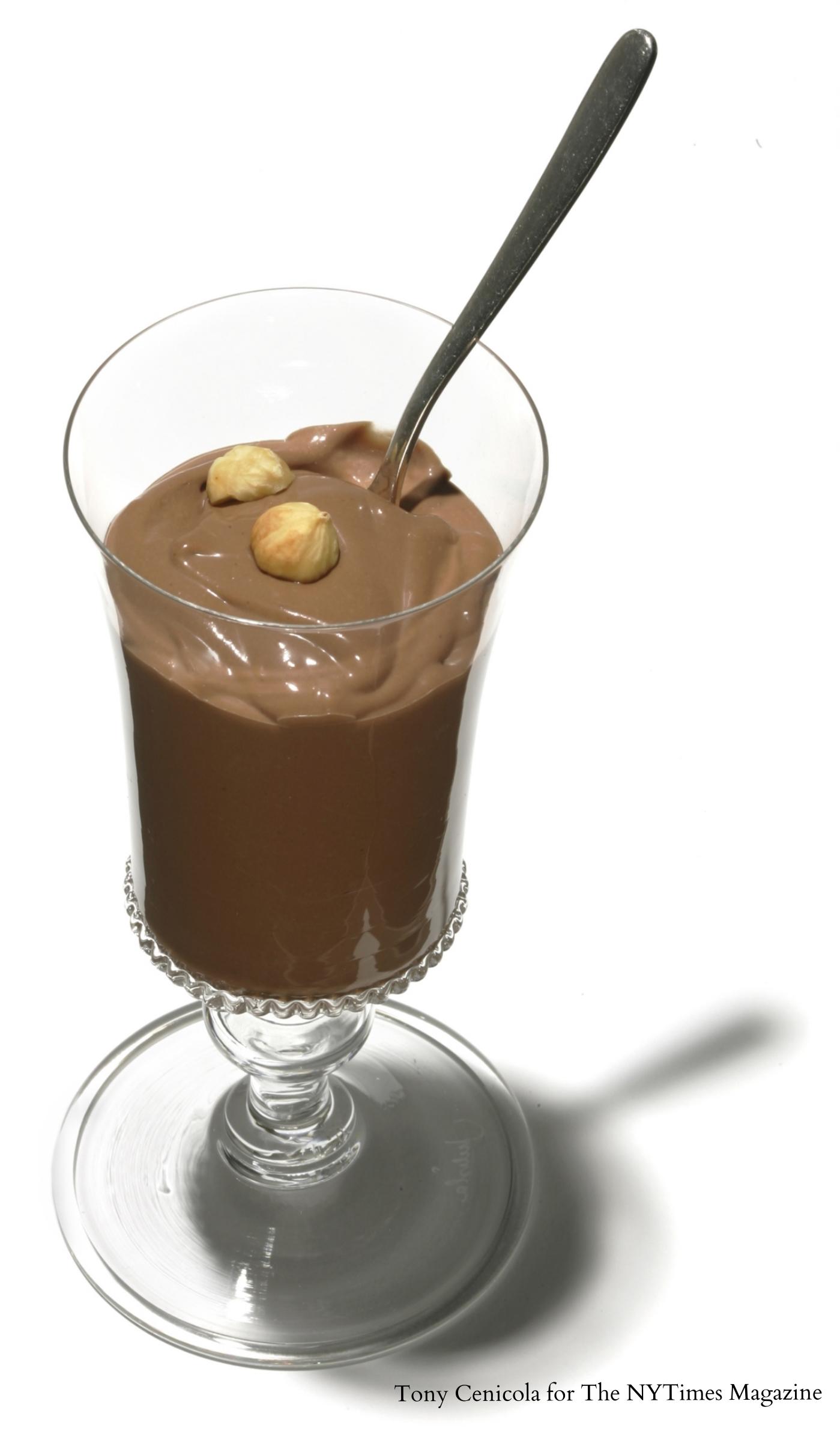 Hazelnut Pudding