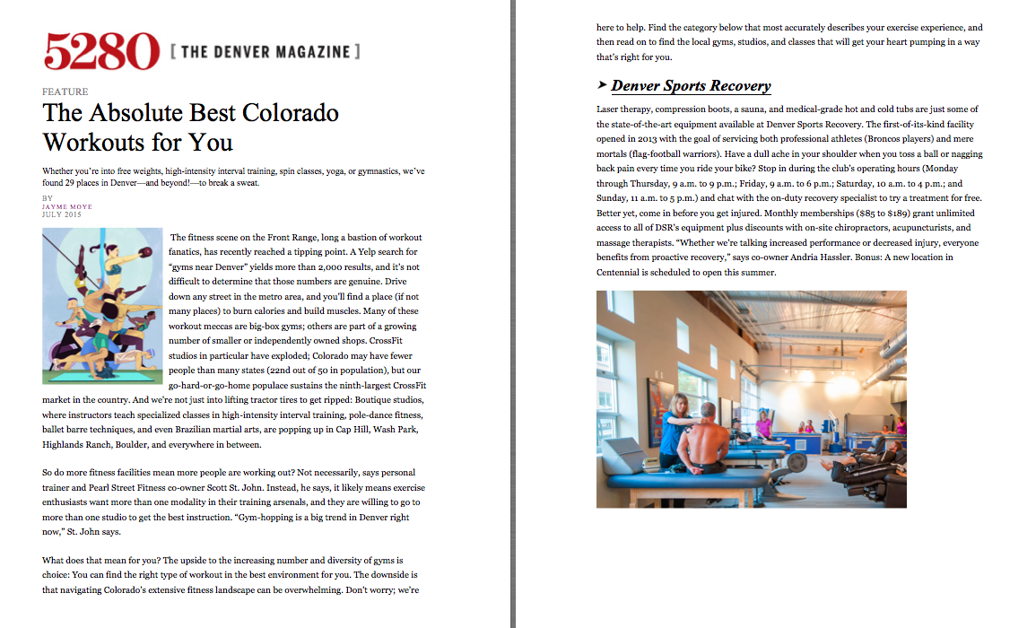 The Best Workouts in Colorado
