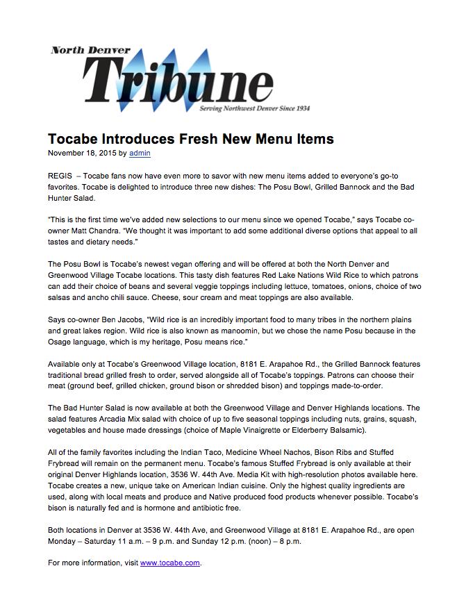 North Denver Tribune